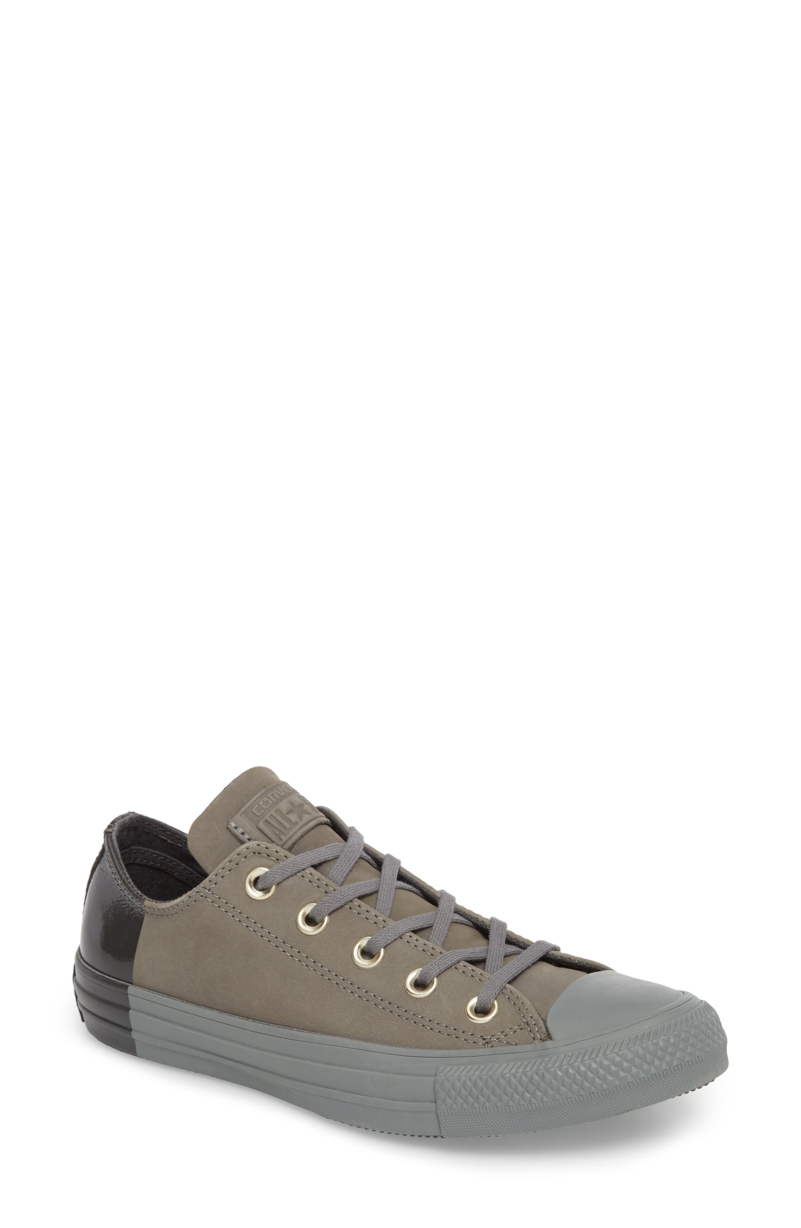 All Star<sup>®</sup> Nubuck OX Low Top Sneaker,                             Main thumbnail 1, color,                             028