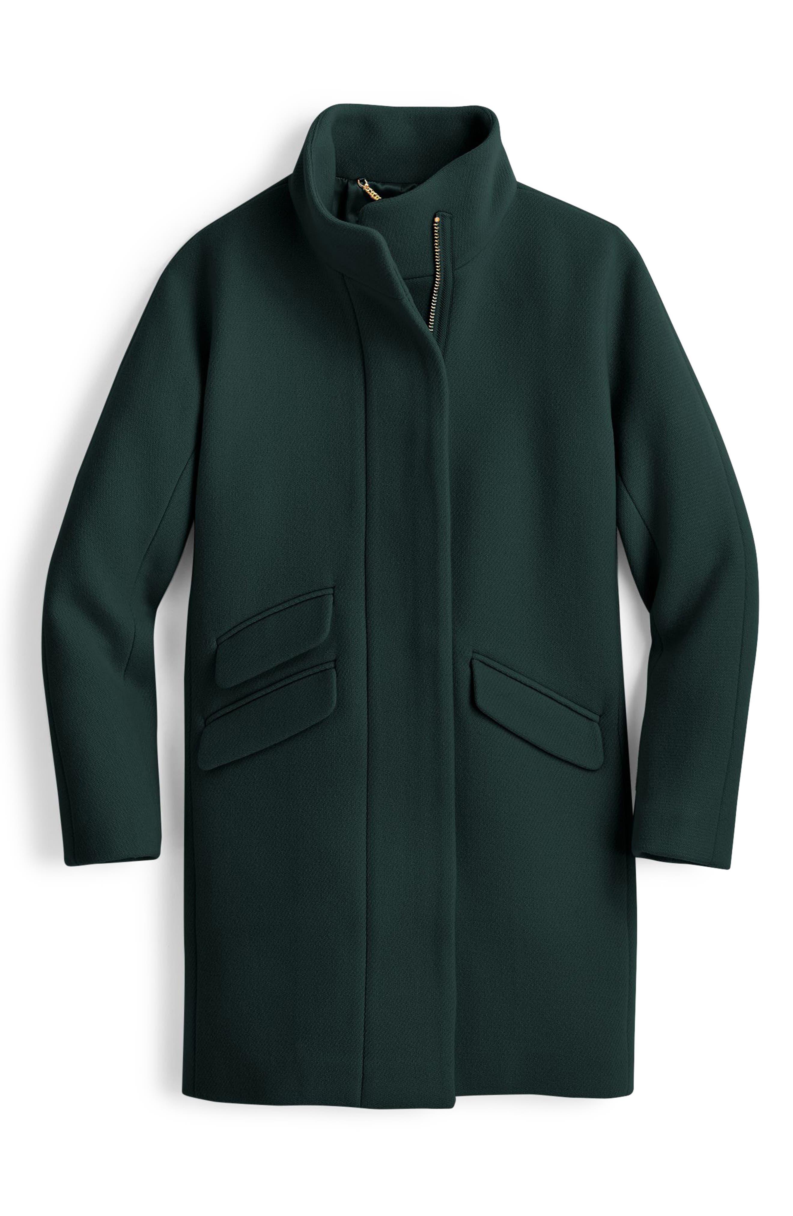 Stadium Cloth Cocoon Coat,                             Main thumbnail 6, color,