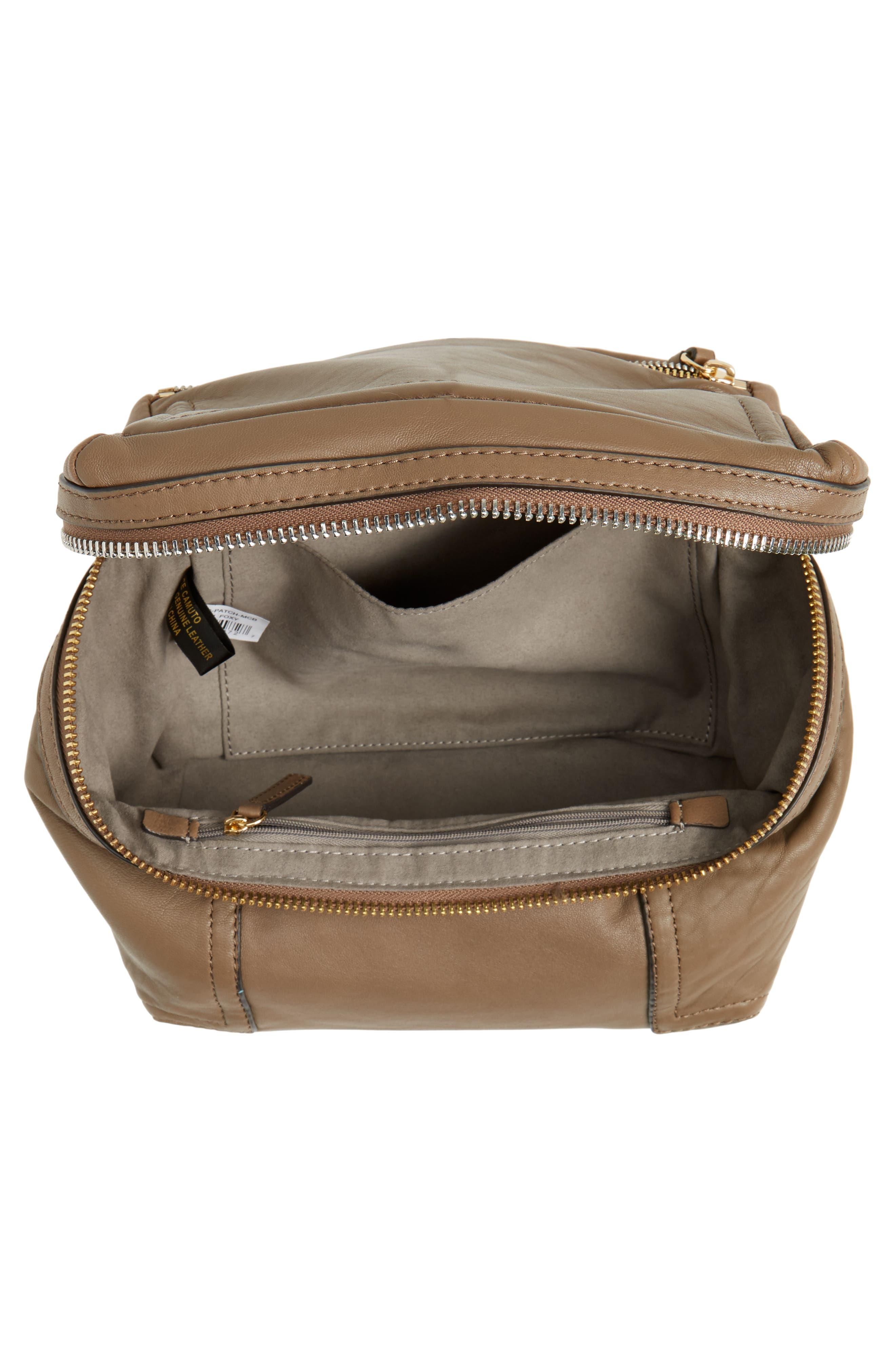 Medium Patch Leather Crossbody Bag,                             Alternate thumbnail 8, color,