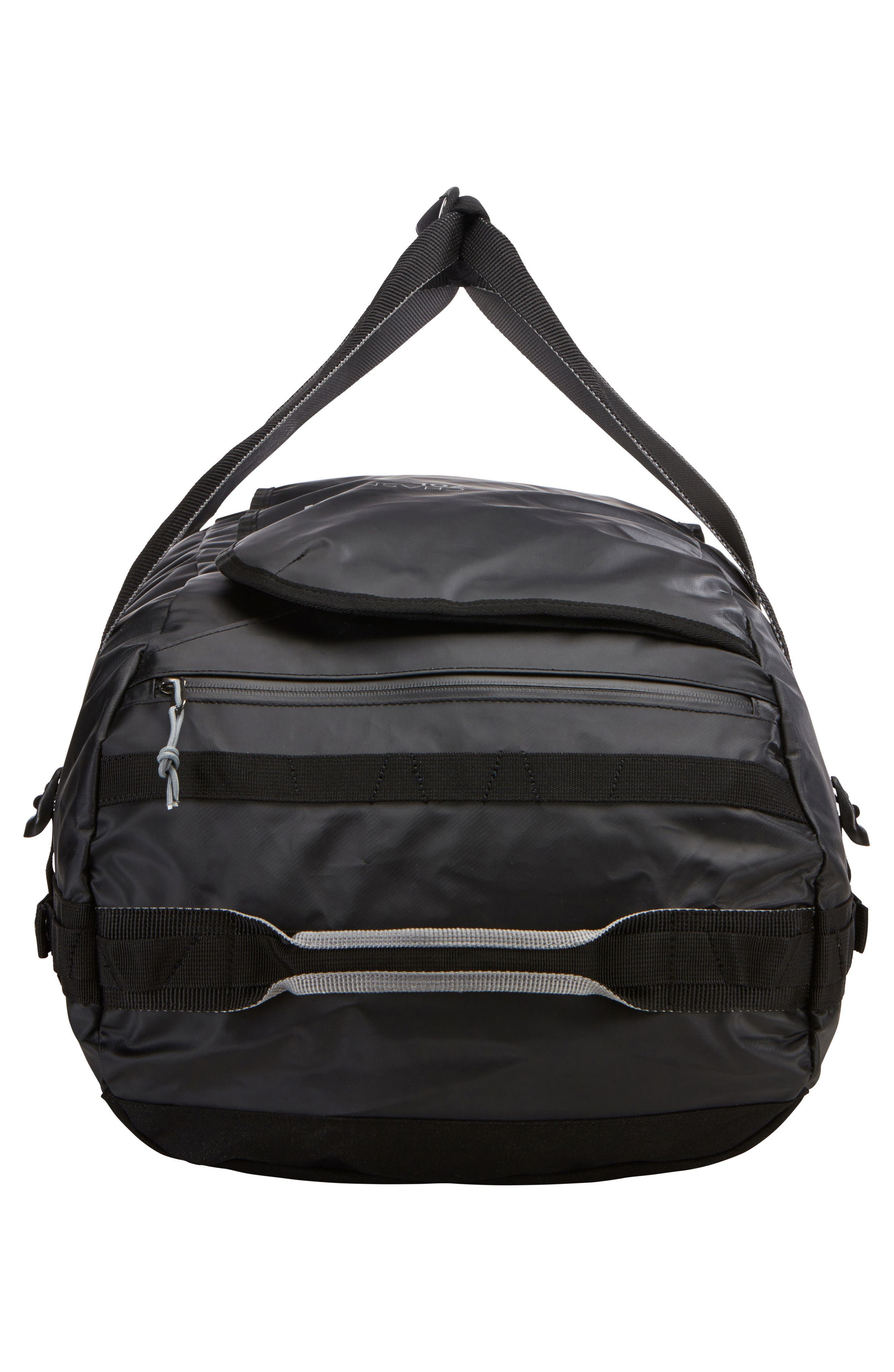 Chasm 70-Liter Convertible Duffel Bag,                             Alternate thumbnail 4, color,                             BLACK