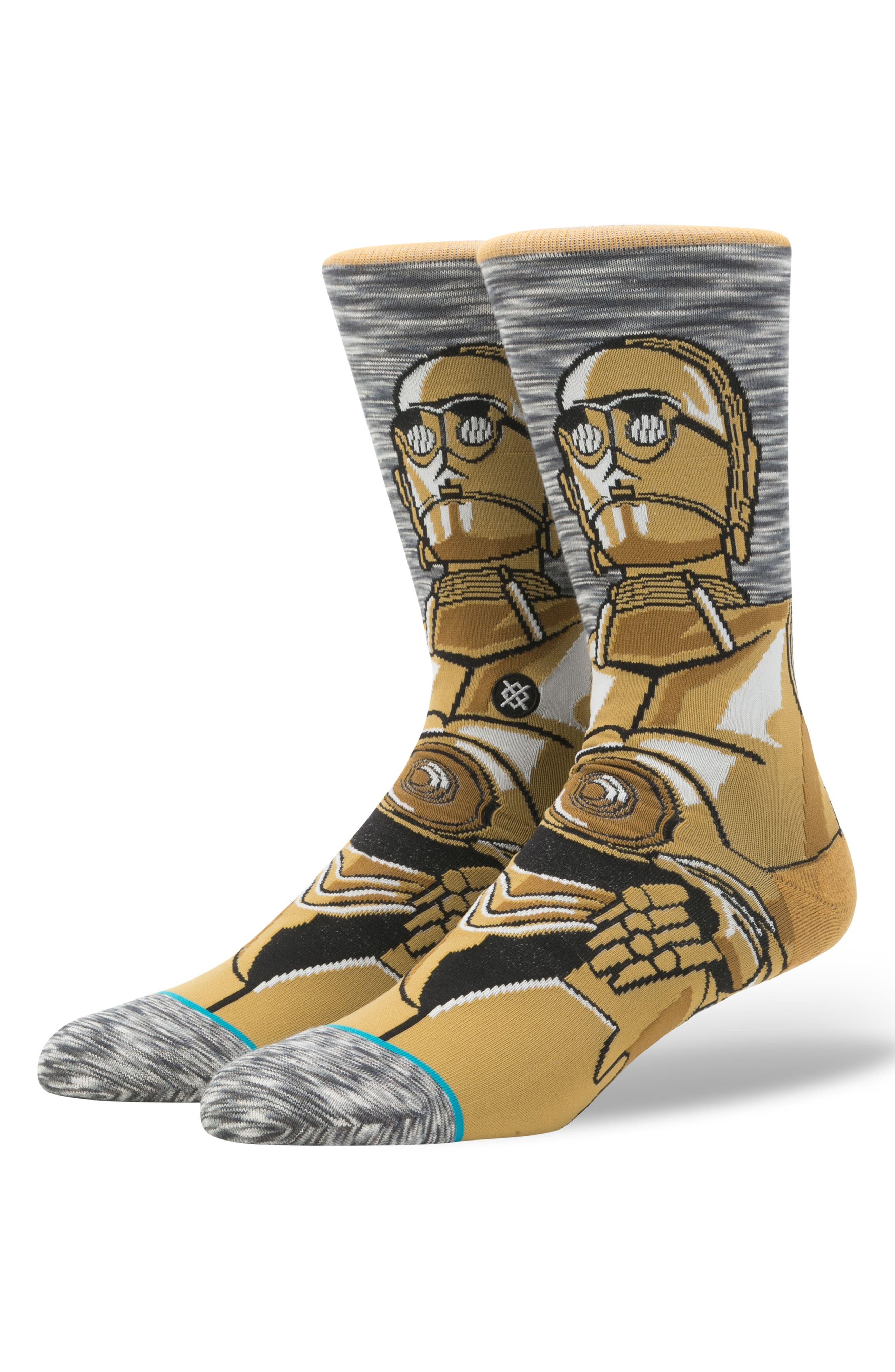 Star Wars – Android Socks,                         Main,                         color, GREY