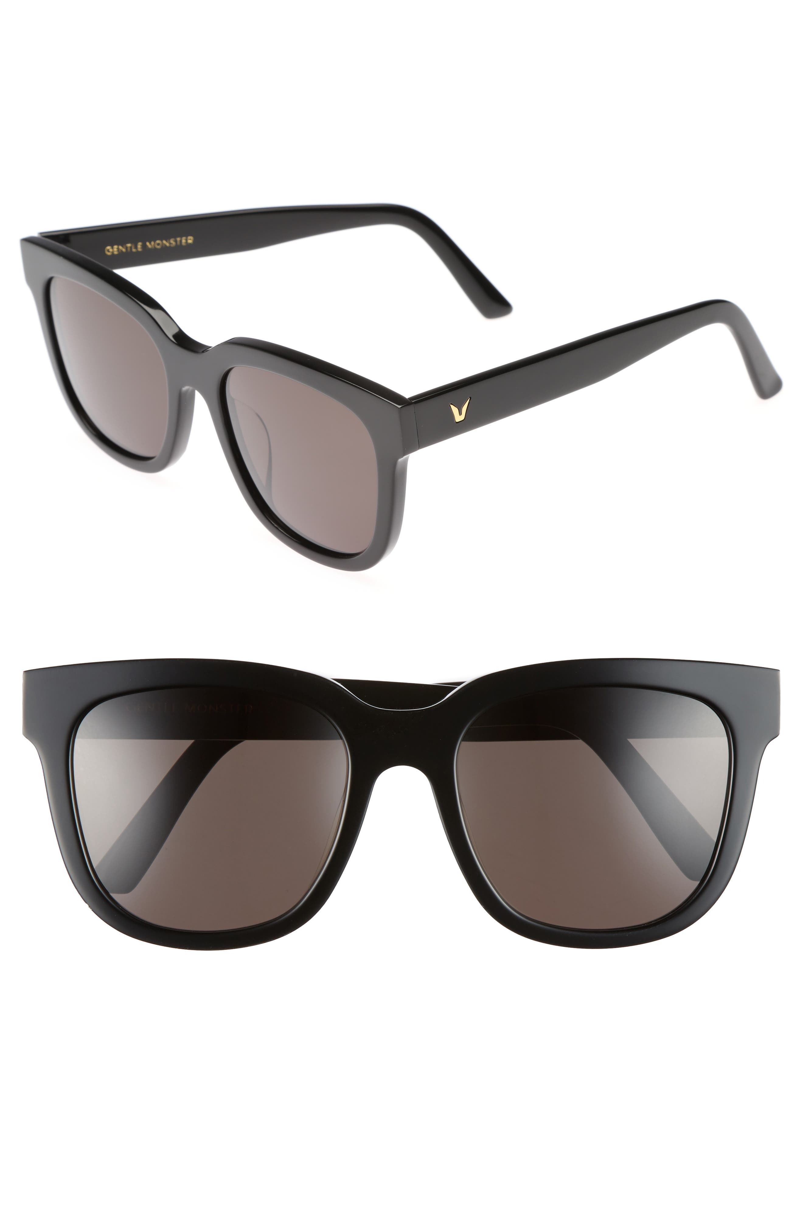Salt 55mm Sunglasses,                             Main thumbnail 1, color,                             001