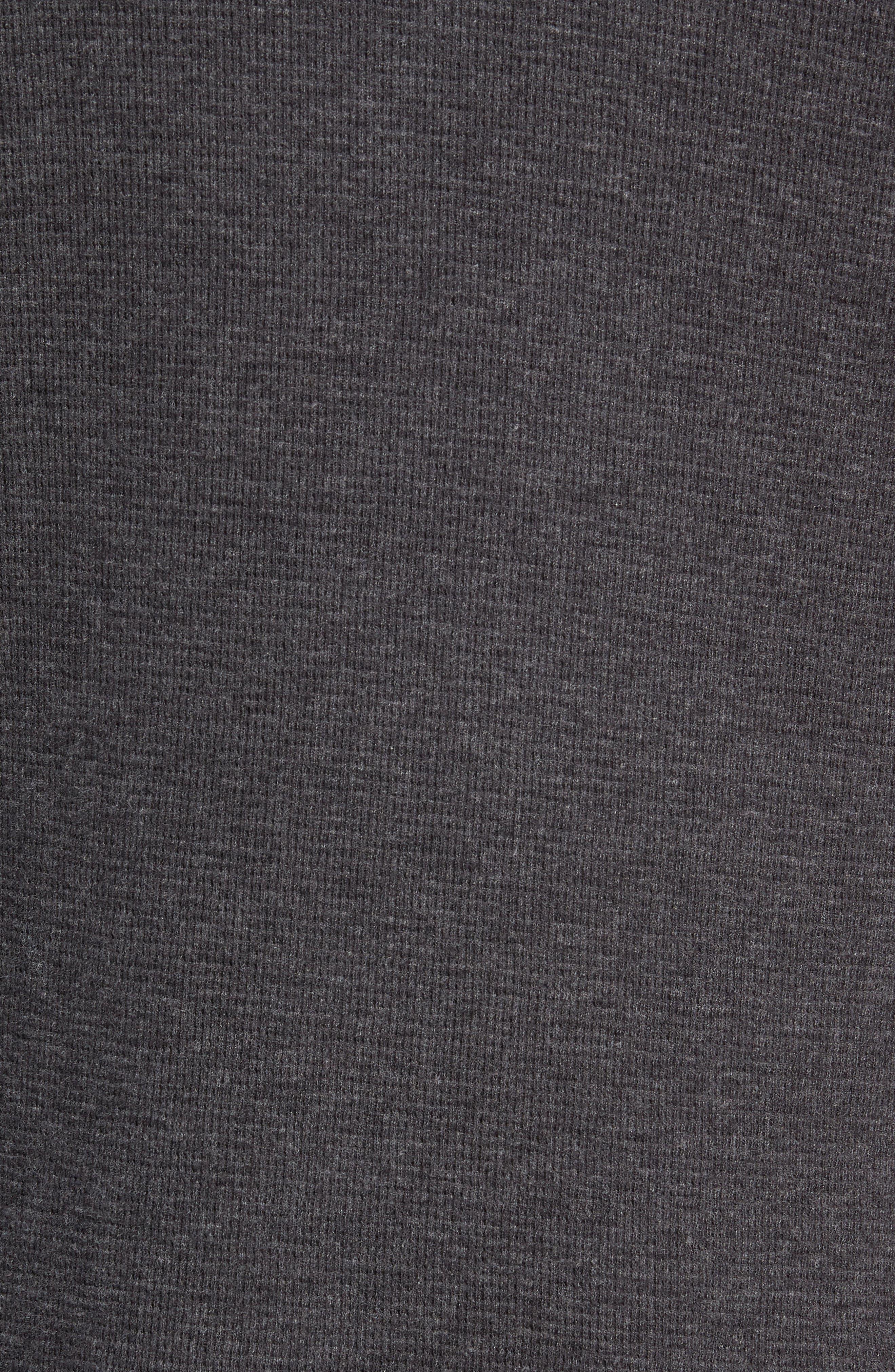 Wilson Thermal Pullover Hoodie,                             Alternate thumbnail 5, color,                             TITANIUM
