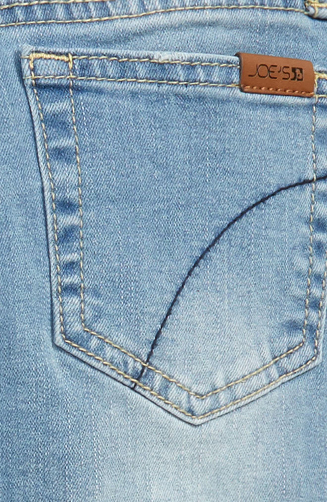 The Smith Ripped Straight Leg Stretch Jeans,                             Alternate thumbnail 3, color,                             400