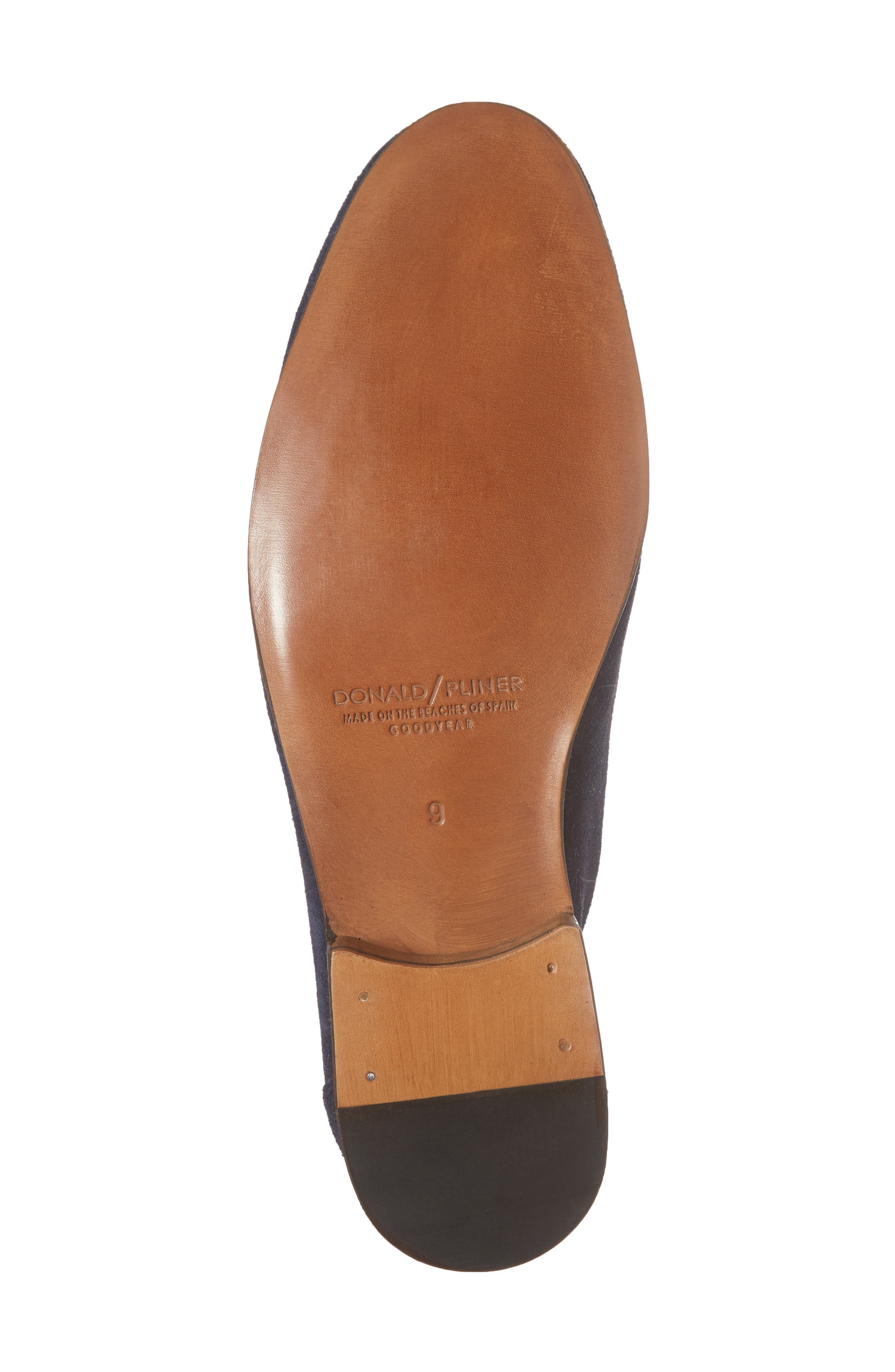 Ario Tassel Loafer,                             Alternate thumbnail 6, color,                             NAVY SUEDE