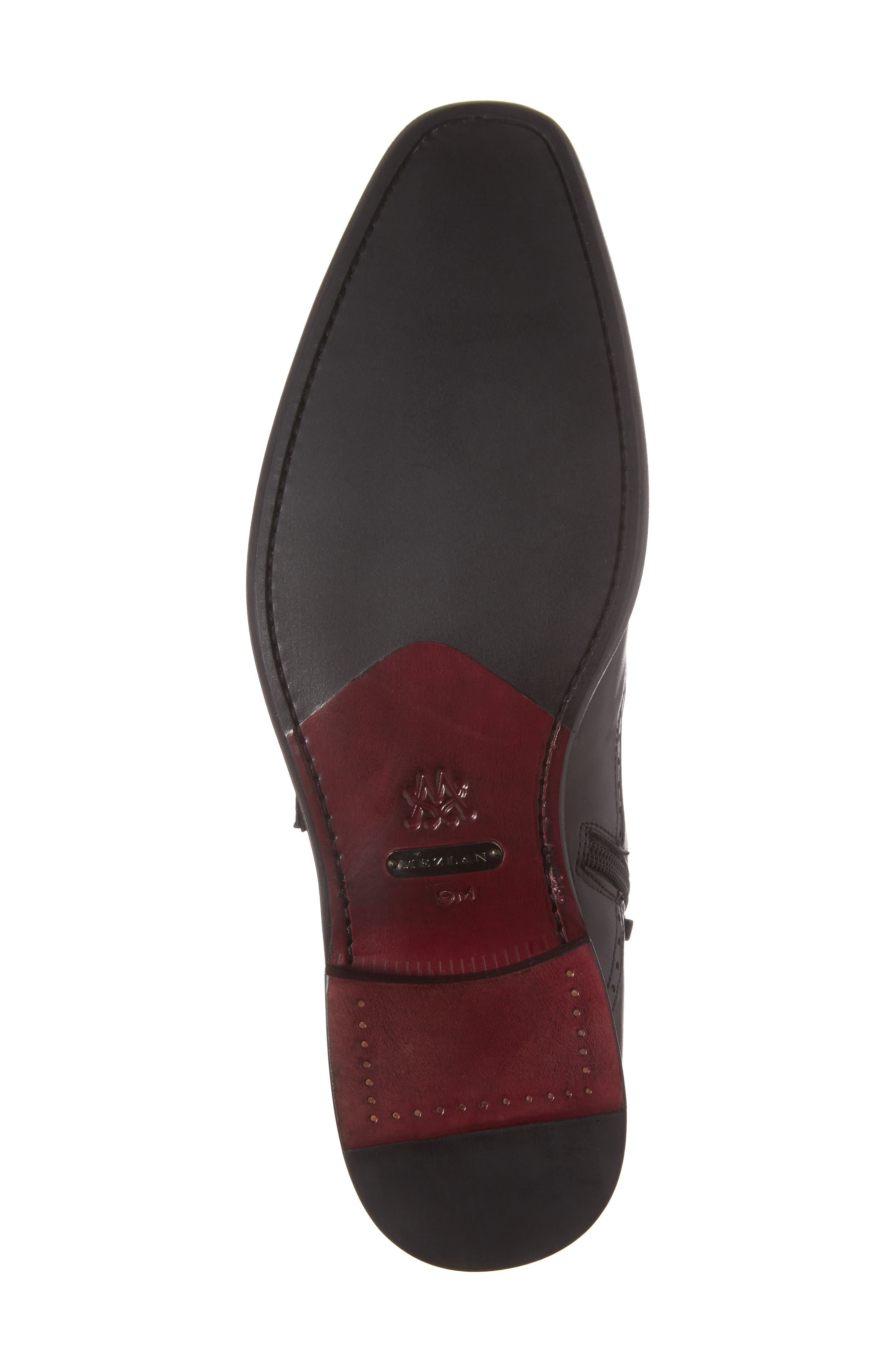 Taberna Double Monk Strap Boot,                             Alternate thumbnail 6, color,                             GRAPHITE LEATHER