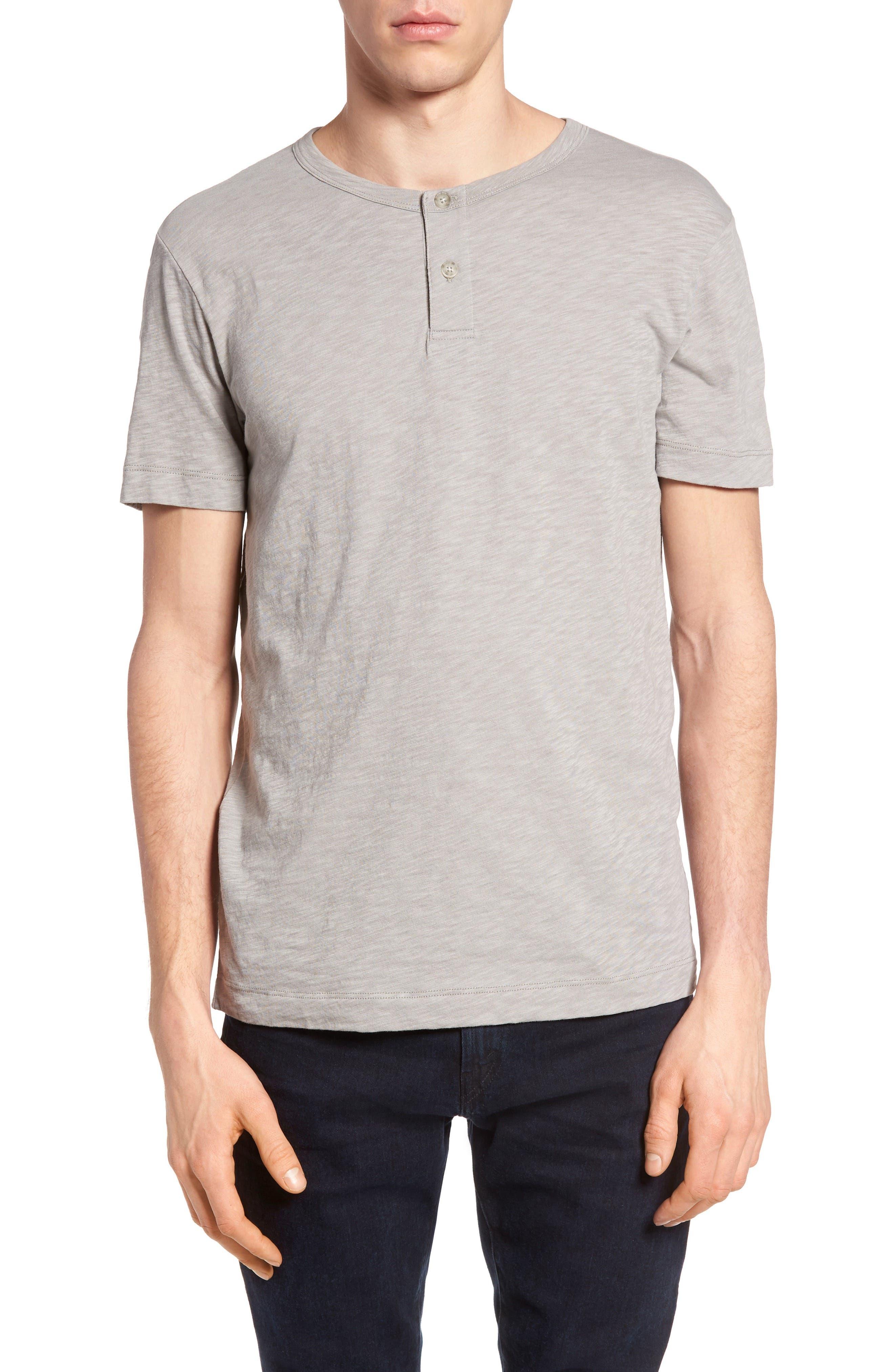 Gaskell Henley T-Shirt,                             Main thumbnail 4, color,