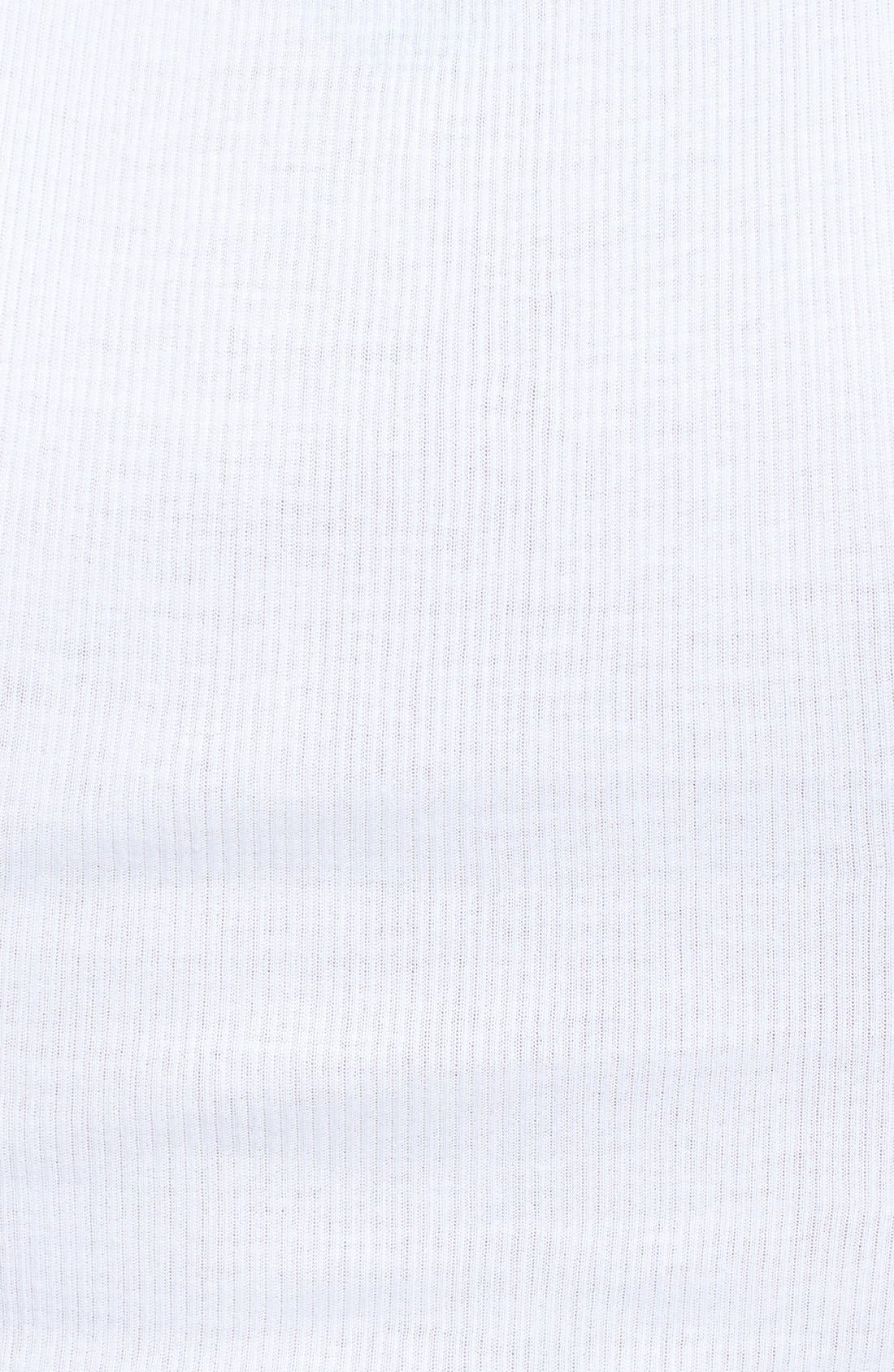 4-Pack Supima<sup>®</sup> Cotton Athletic Tanks,                             Alternate thumbnail 3, color,                             WHITE
