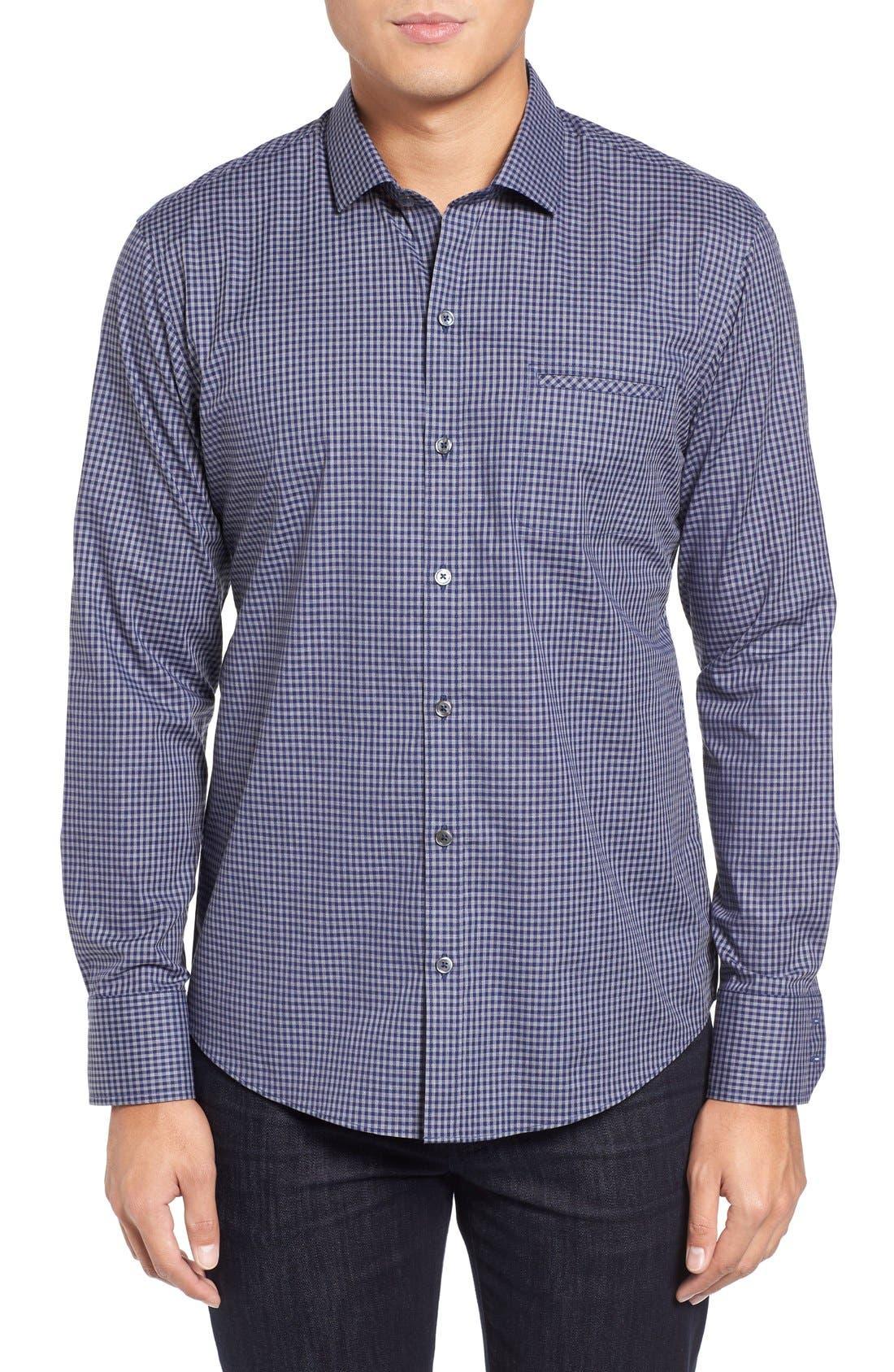 Fitzpatrick Trim Fit Sport Shirt,                         Main,                         color, 400