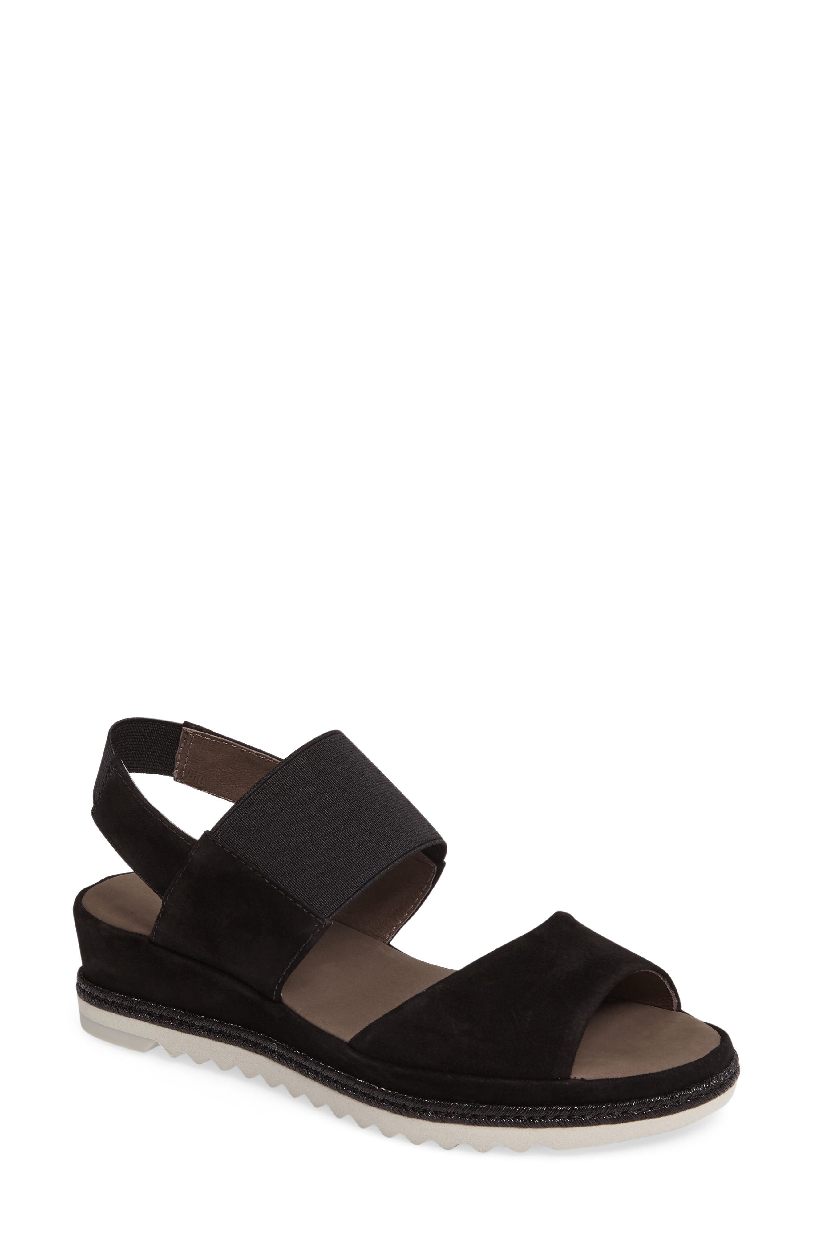Low Wedge Sandal,                         Main,                         color, 001