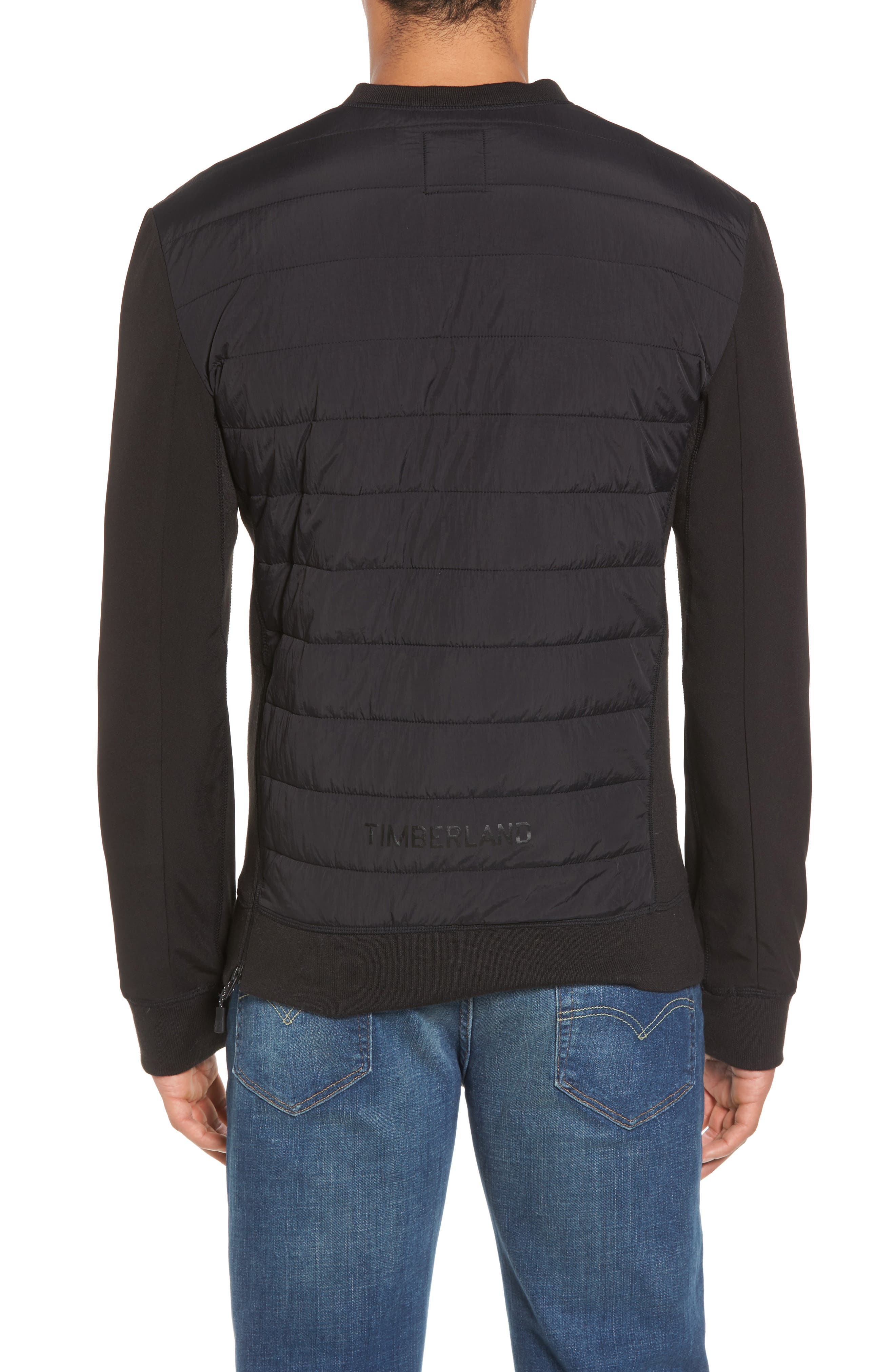 Quilted Pullover,                             Alternate thumbnail 2, color,                             001