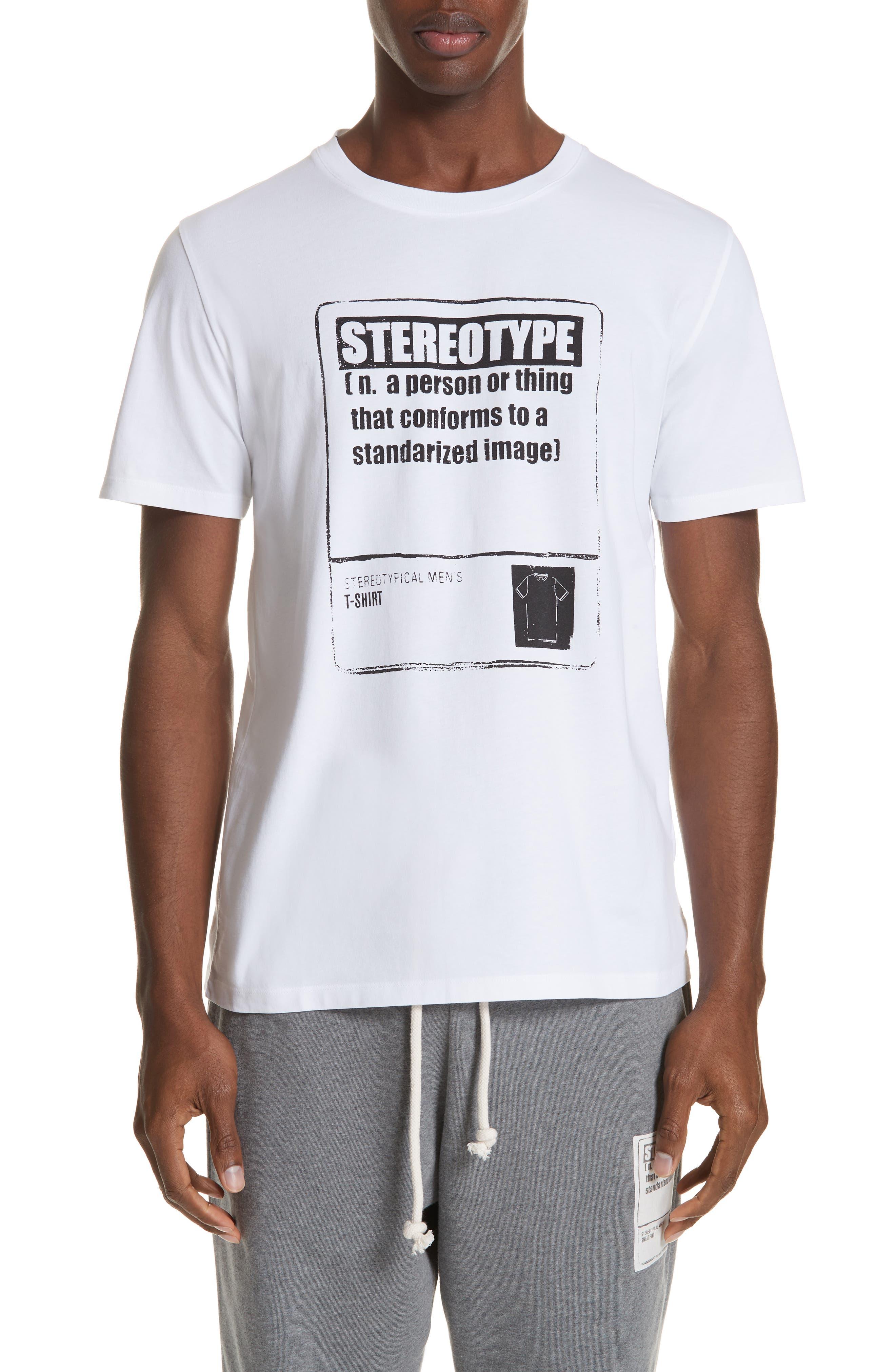 Stereotype T-Shirt,                             Main thumbnail 1, color,                             100
