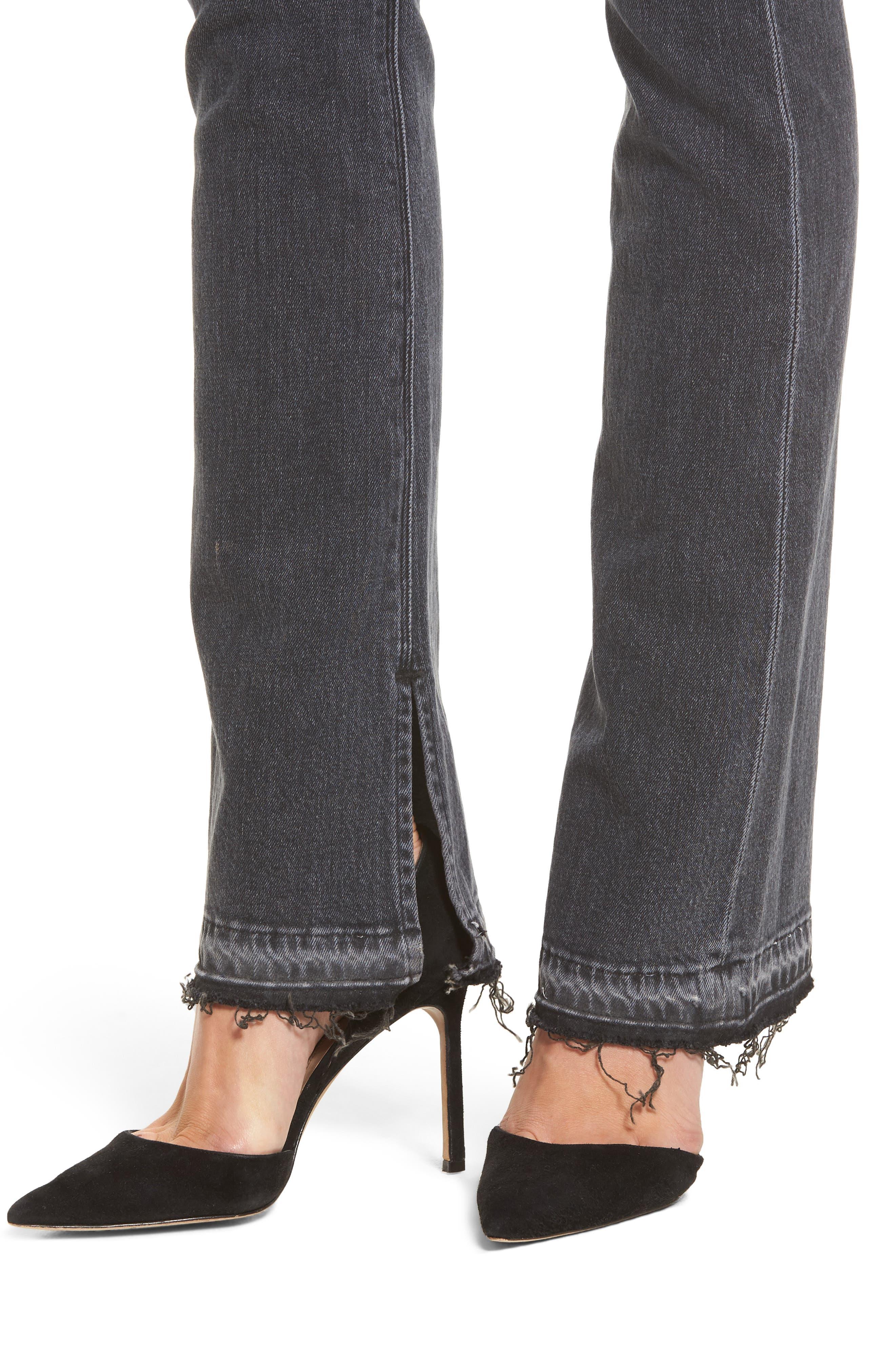 Heartbreaker High Waist Bootcut Jeans,                             Alternate thumbnail 4, color,                             001