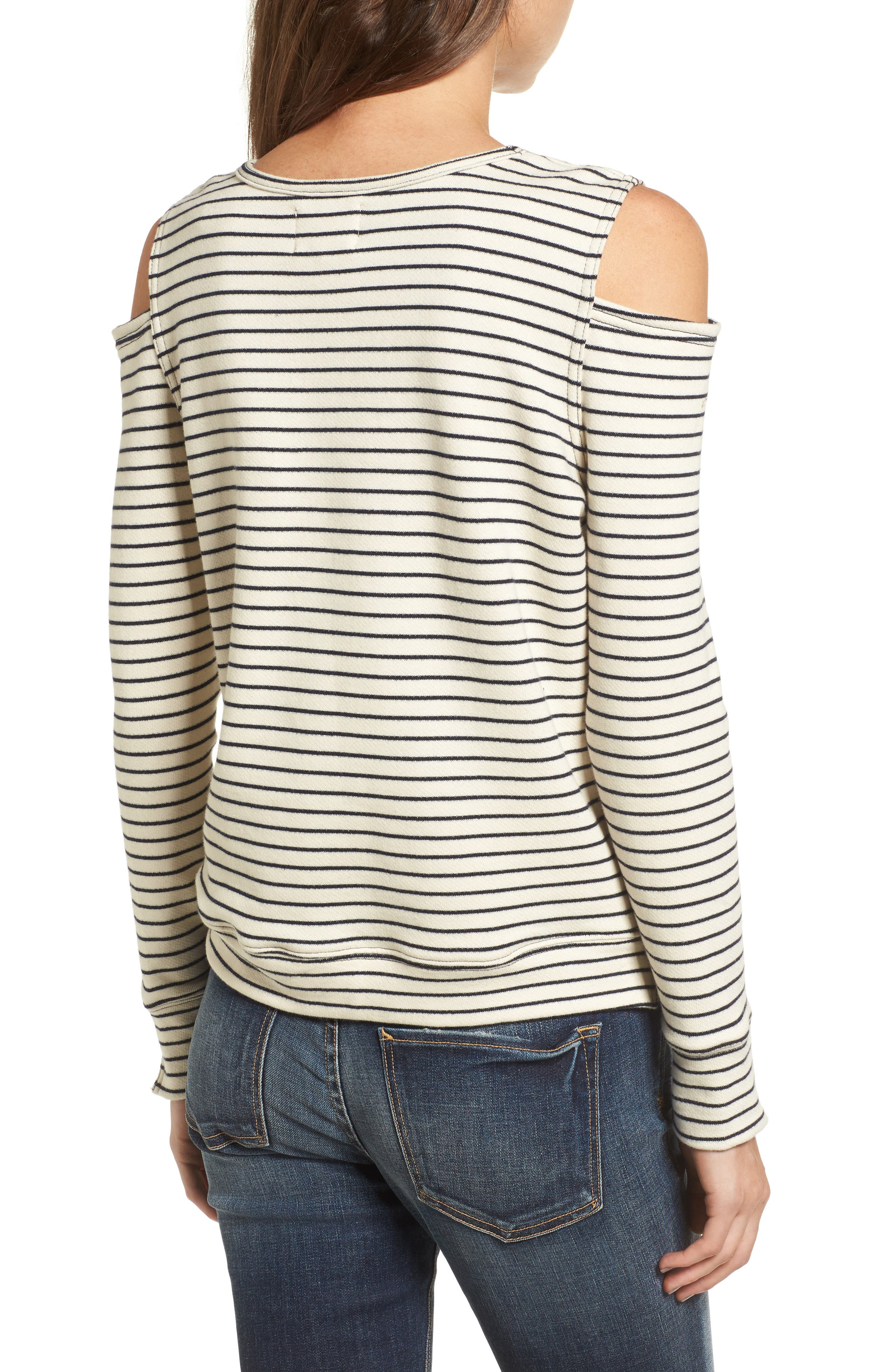 Wildair Cold Shoulder Sweatshirt,                             Alternate thumbnail 2, color,                             460
