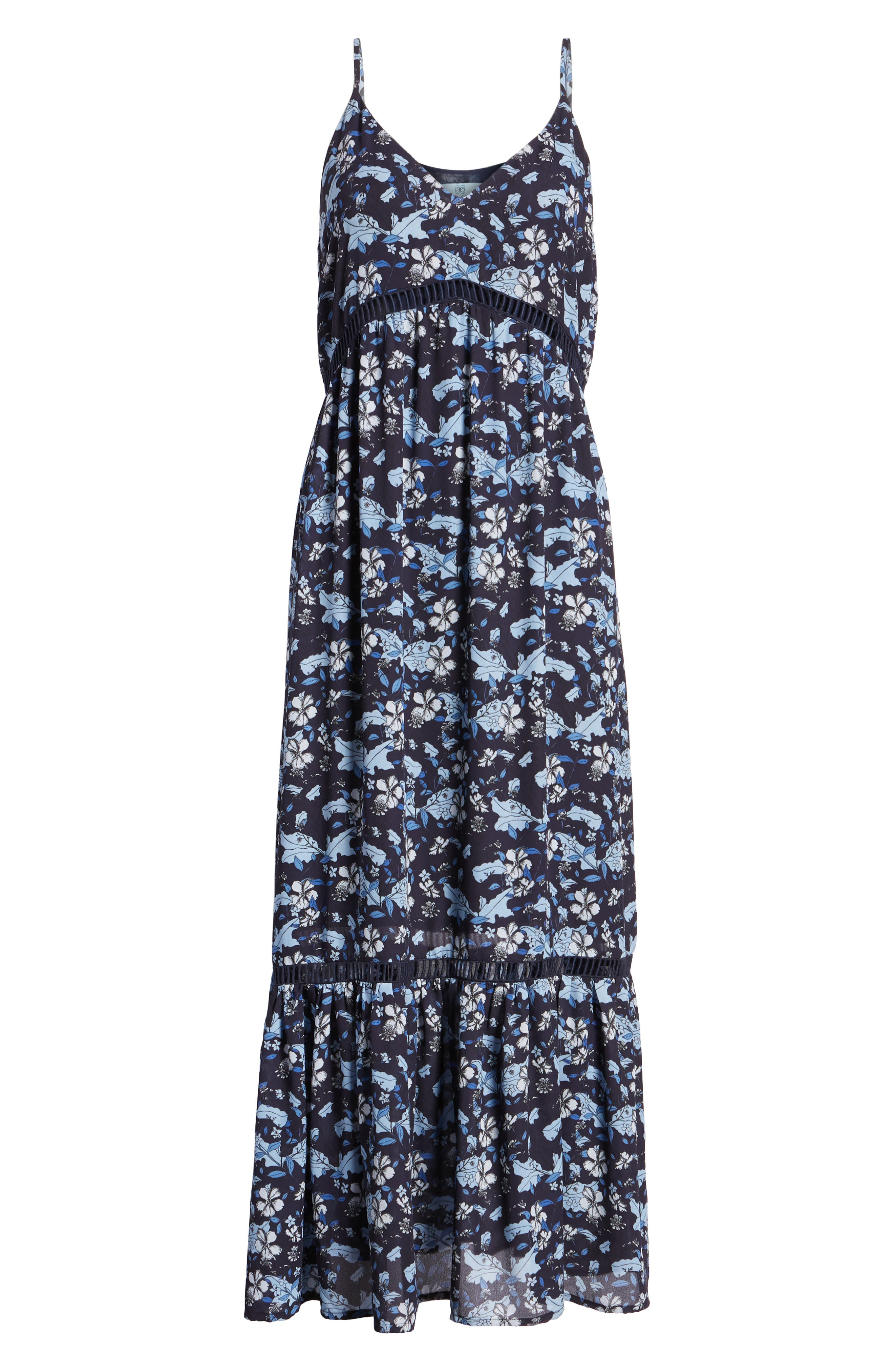 Ivy Forest Maxi Dress,                             Alternate thumbnail 17, color,