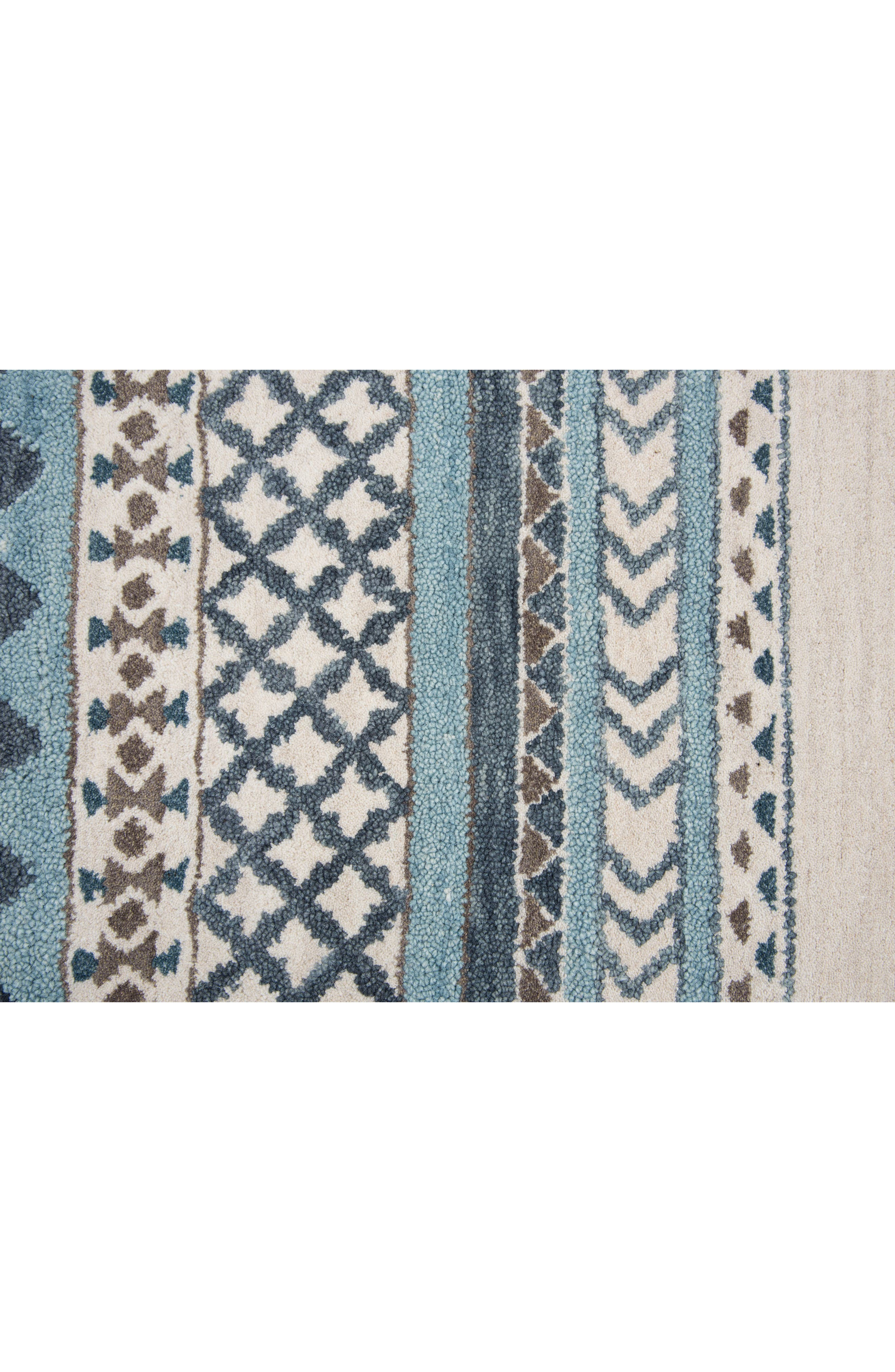 Hand Tufted Wool Blanket Rug,                             Alternate thumbnail 4, color,                             400