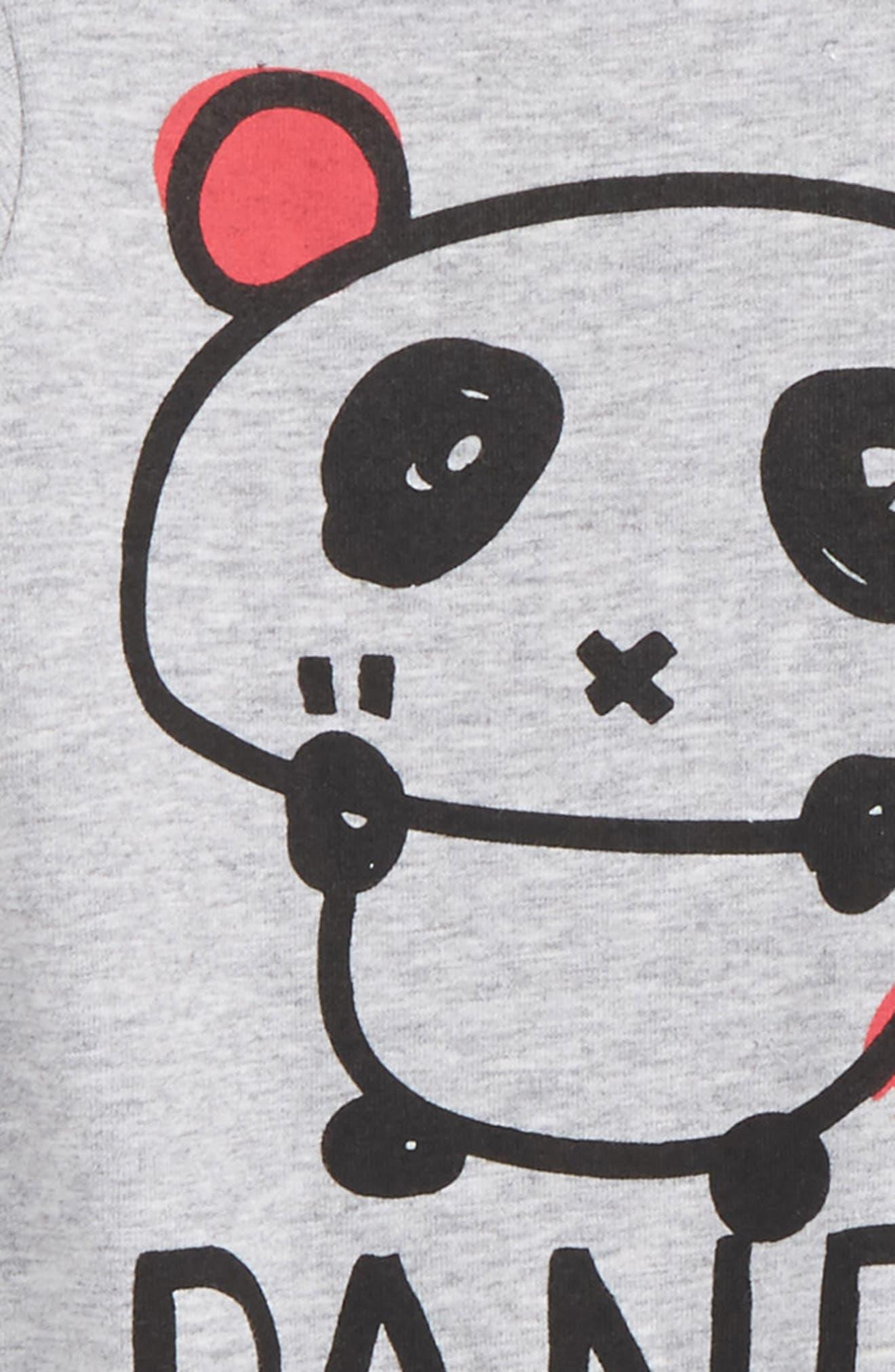 Panda Romper,                             Alternate thumbnail 2, color,                             035