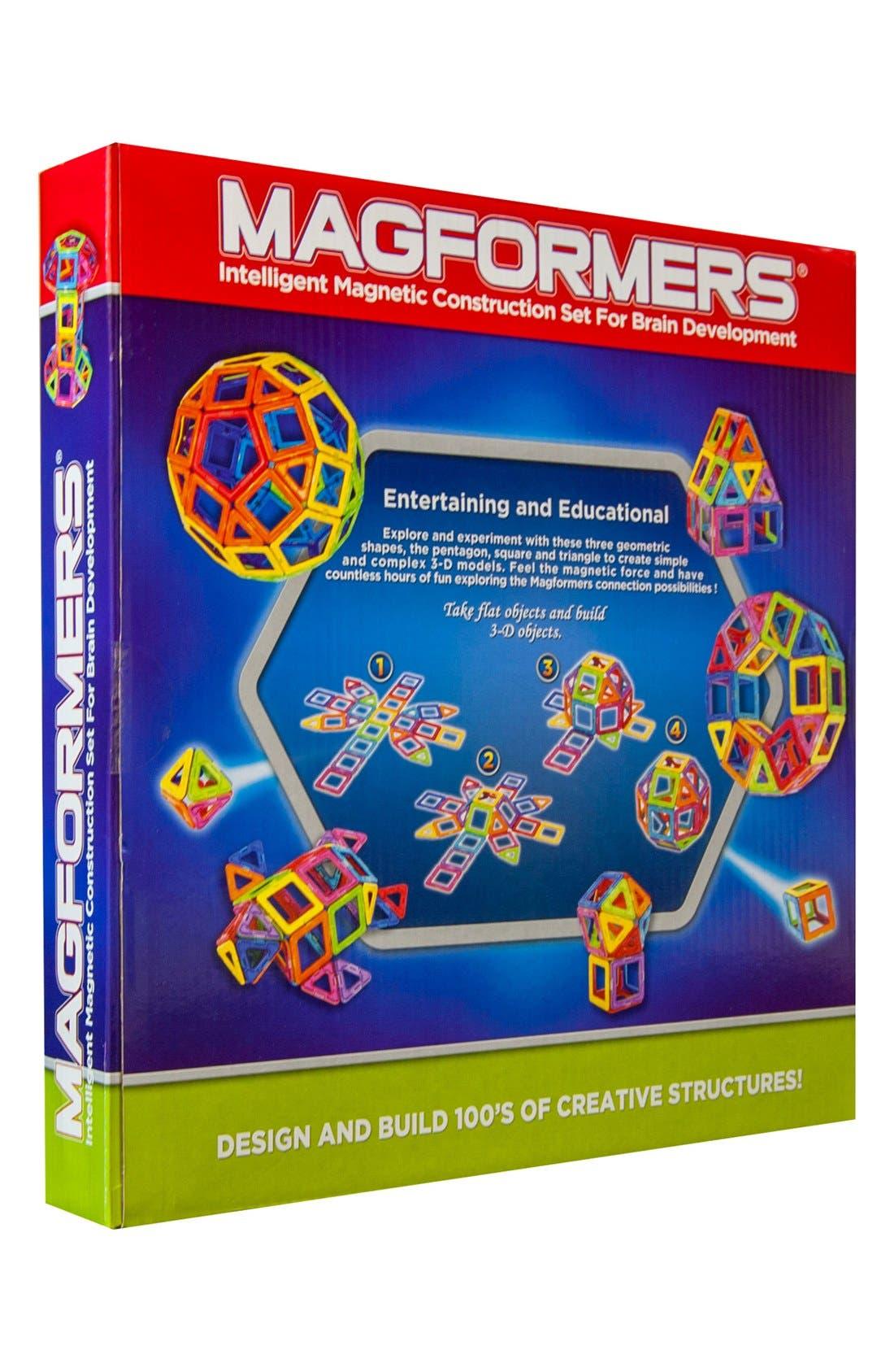 'Rainbow' Magnetic 3D Construction Set,                             Alternate thumbnail 2, color,