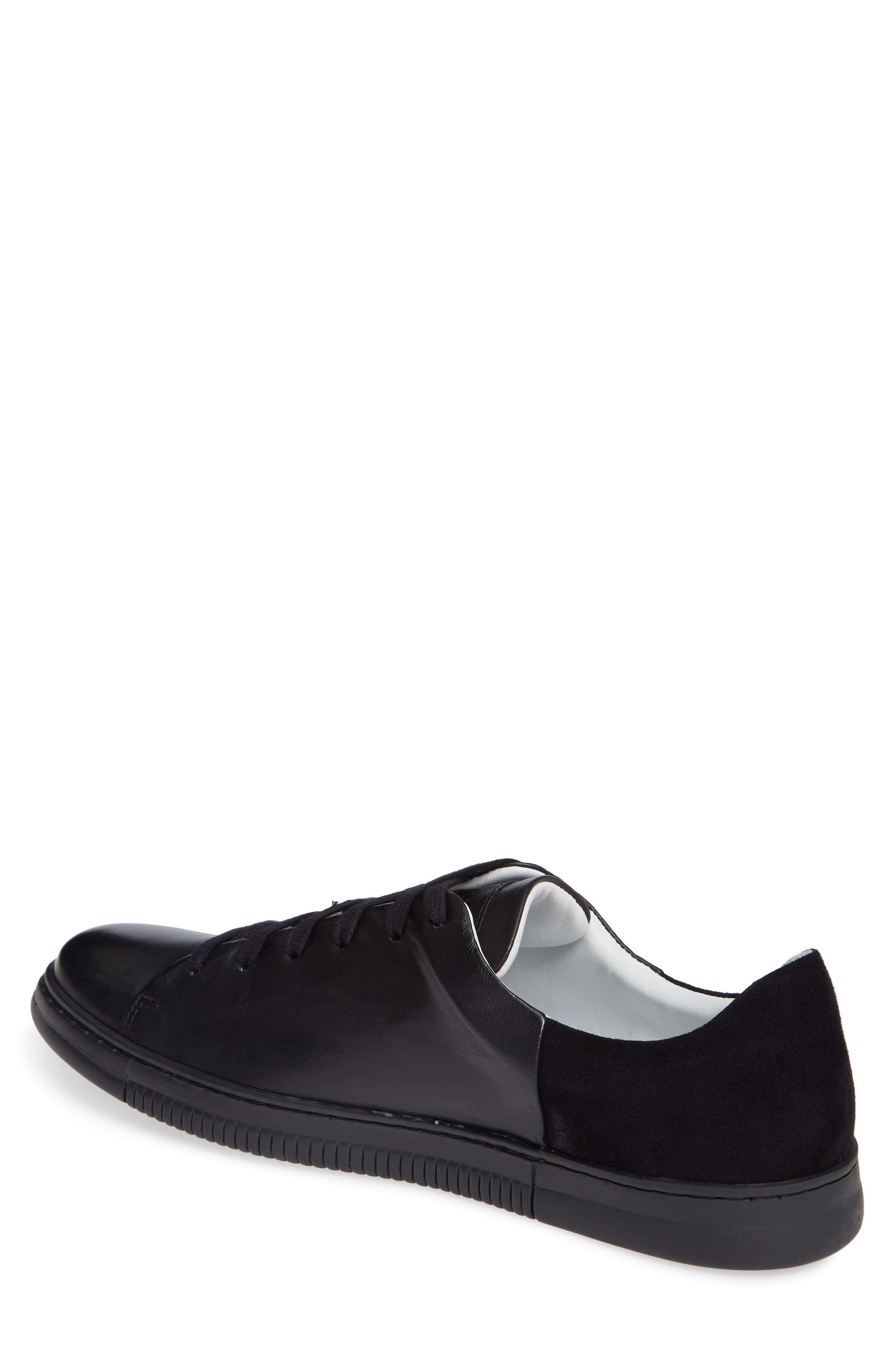 VINCE CAMUTO,                             Jito Sneaker,                             Alternate thumbnail 2, color,                             BLACK LEATHER