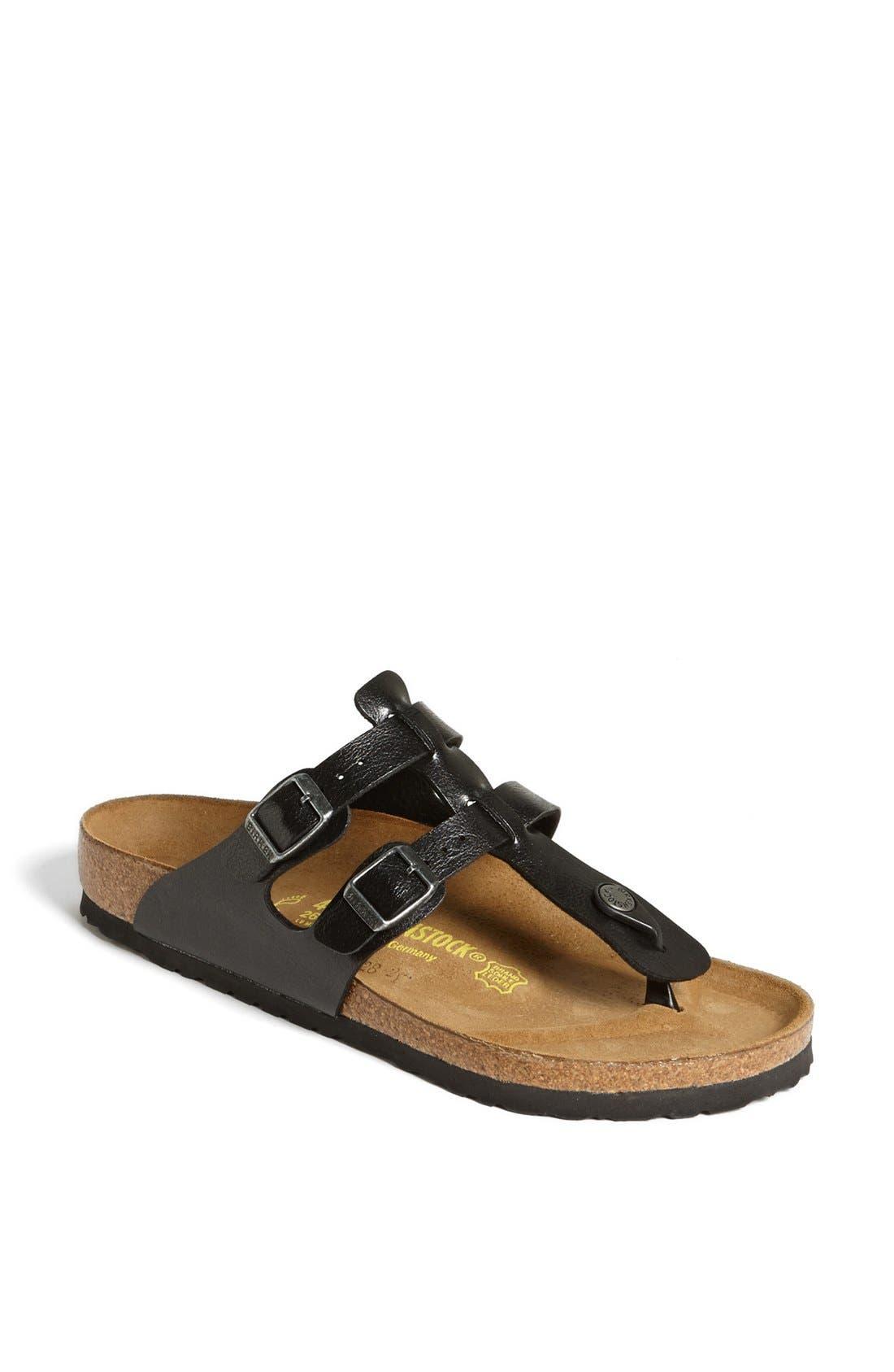 'Sparta' Birko-Flor<sup>™</sup> Sandal, Main, color, 001