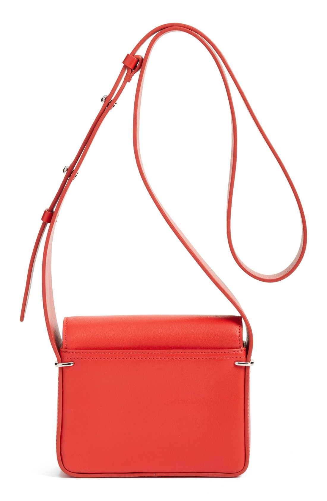 'Mini Alix' Leather Shoulder Bag,                             Alternate thumbnail 9, color,