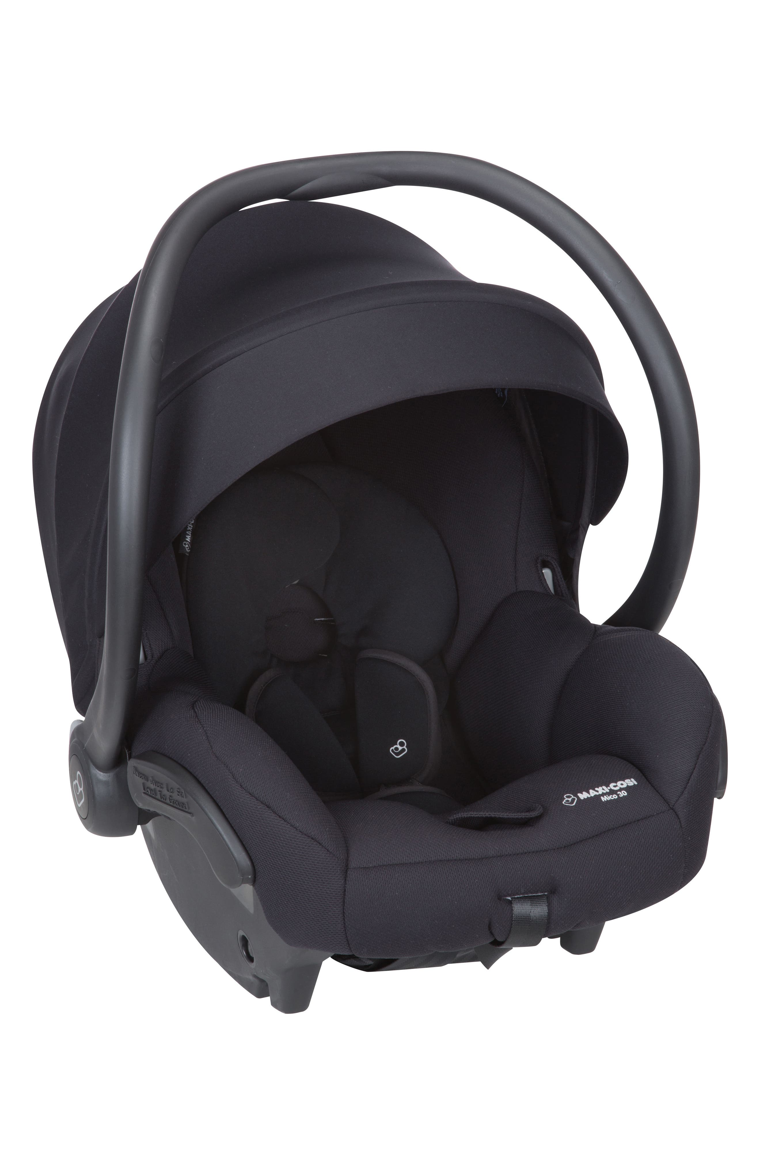 Adorra Nomad Collection Stroller,                             Alternate thumbnail 3, color,                             NIGHT BLACK