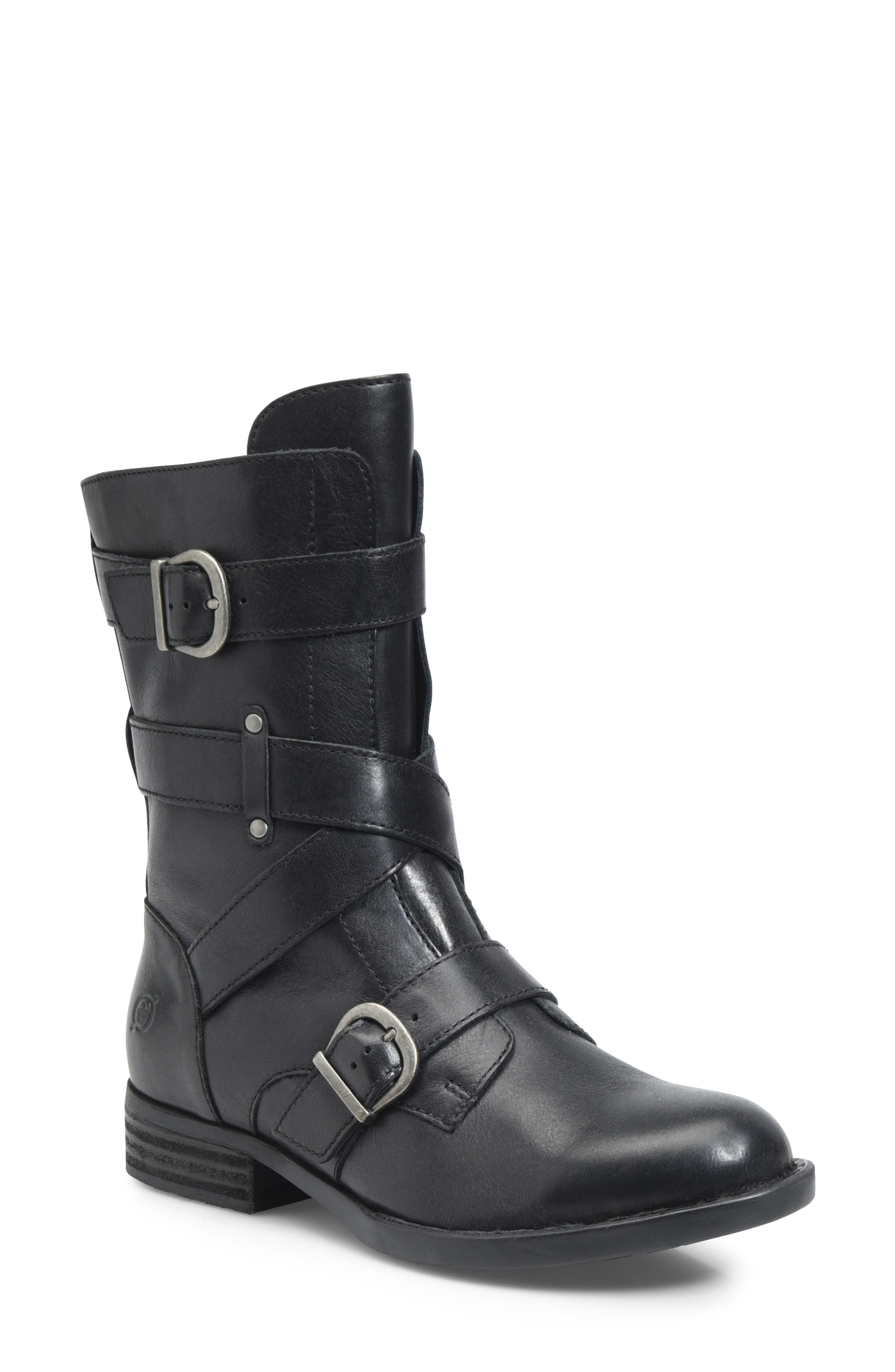 B?rn Portia Buckle Boot, Black