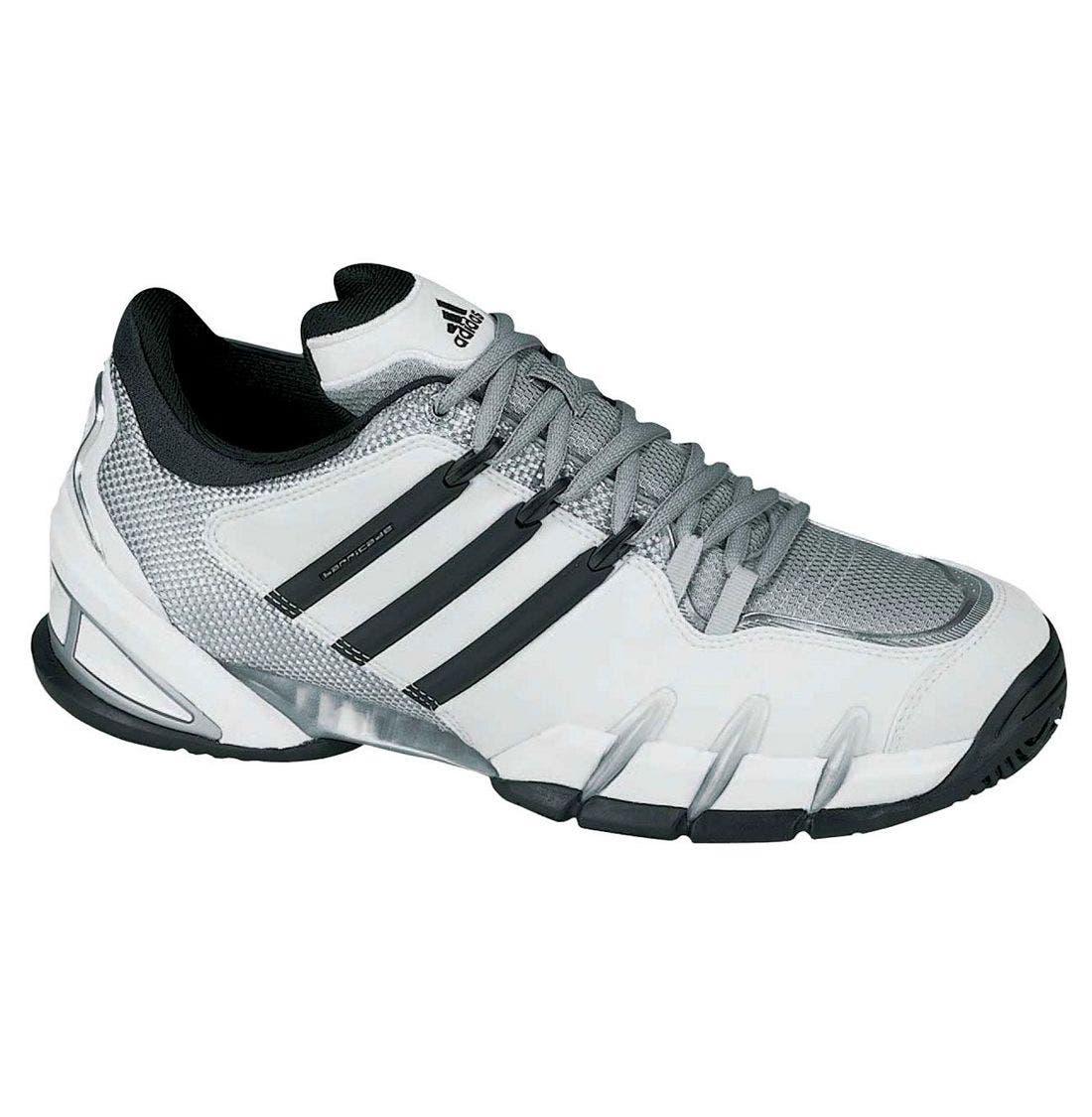 ADIDAS 'Barricade III' Tennis Shoe, Main, color, WBL