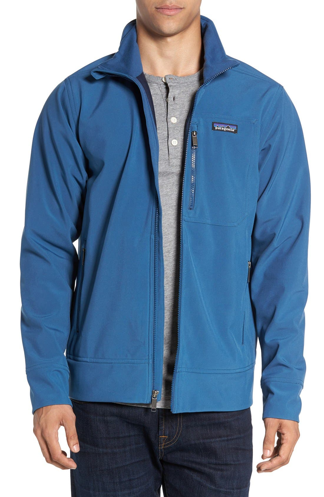 'Sidesend' Regular Fit Water Repellent Jacket,                             Main thumbnail 3, color,