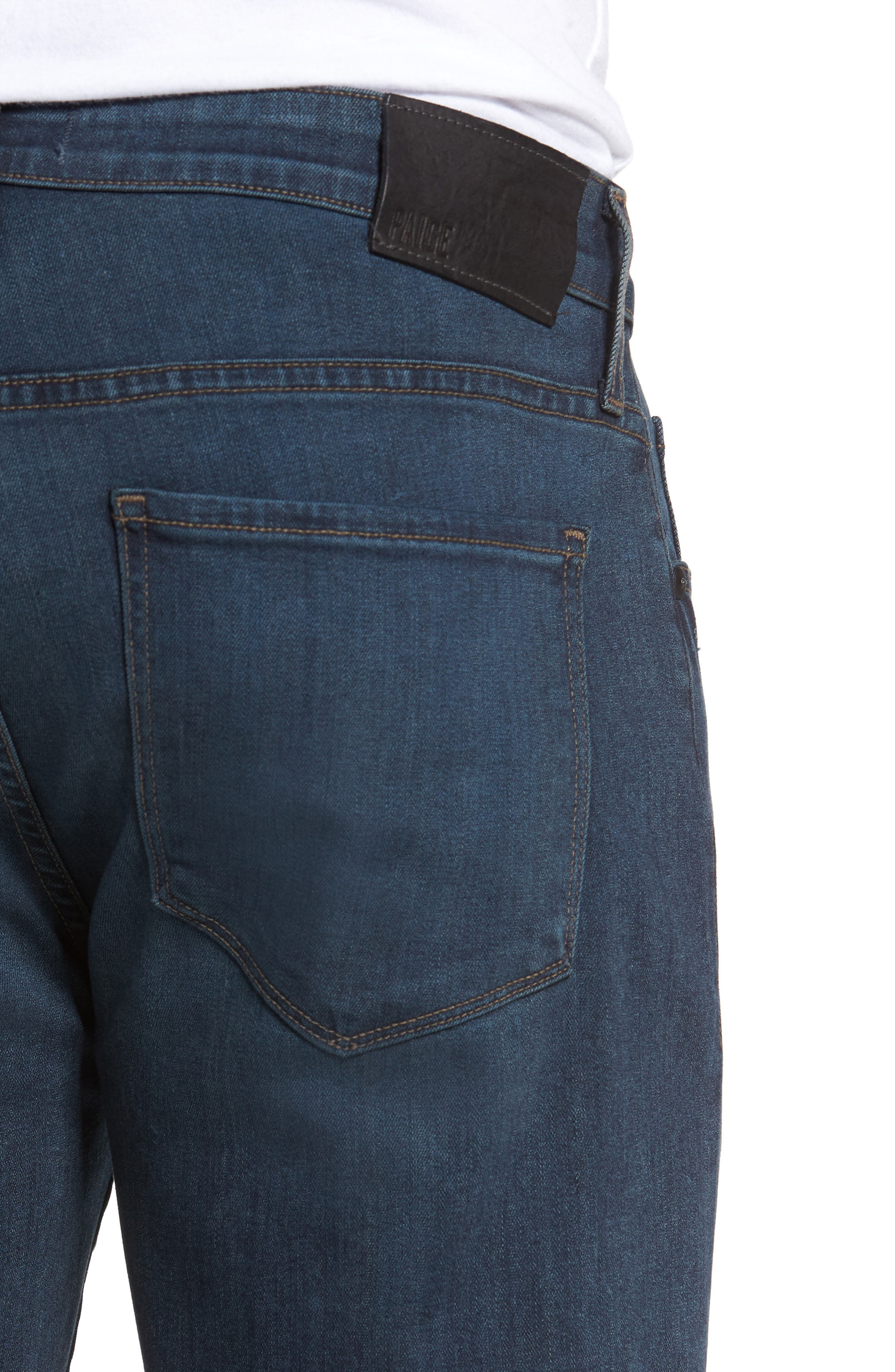 Federal Slim Straight Fit Jeans,                             Alternate thumbnail 4, color,                             400