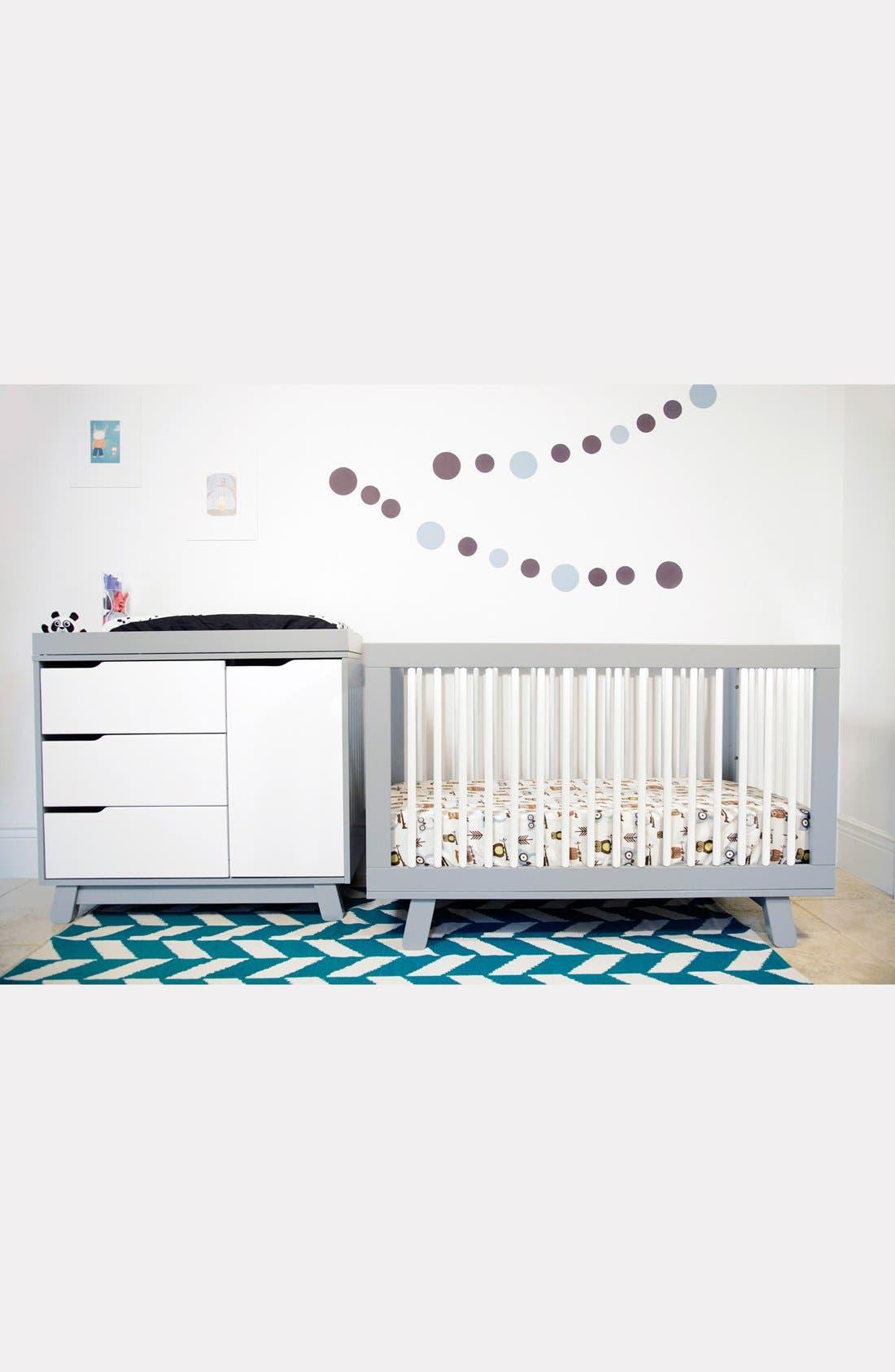 'Hudson' 3-in-1 Convertible Crib,                             Alternate thumbnail 27, color,