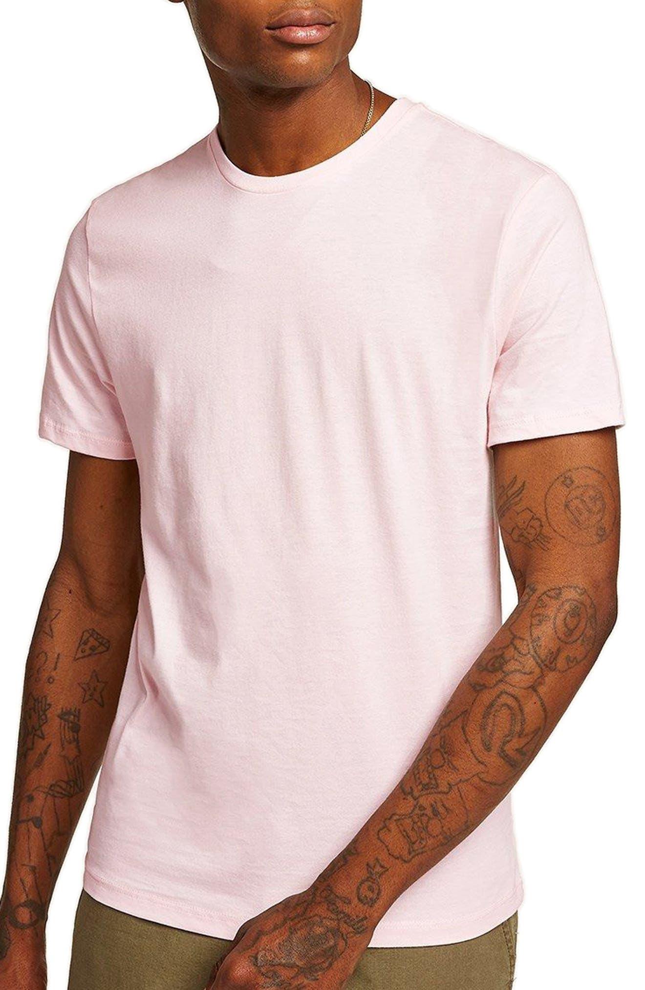 Slim Fit Crewneck T-Shirt,                             Main thumbnail 25, color,
