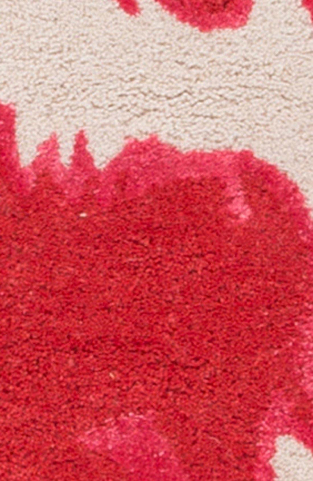 'gramercy - animal print' wool & silk rug,                             Alternate thumbnail 9, color,
