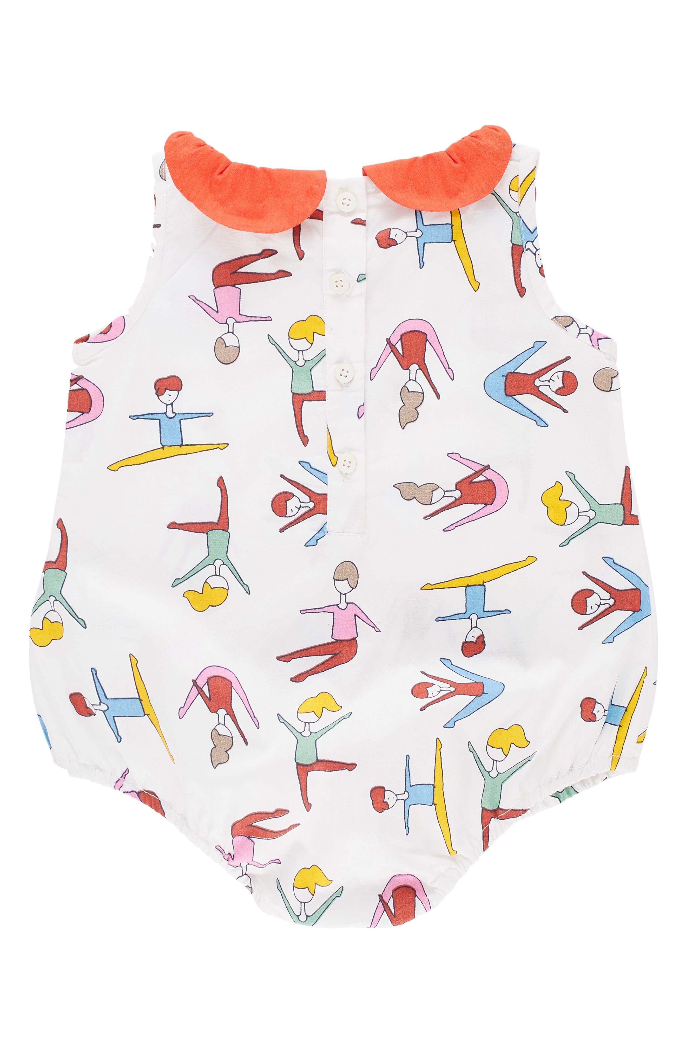 Stretching Print Bubble Bodysuit,                         Main,                         color, 901
