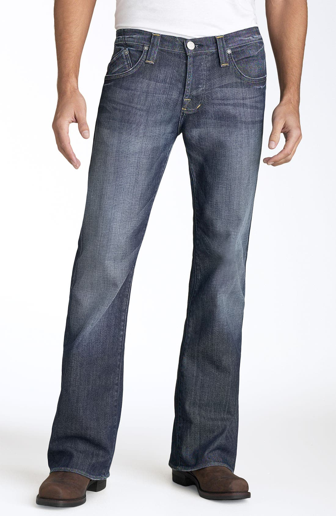 'Floyd' Relaxed Bootcut Jeans,                             Alternate thumbnail 2, color,                             420