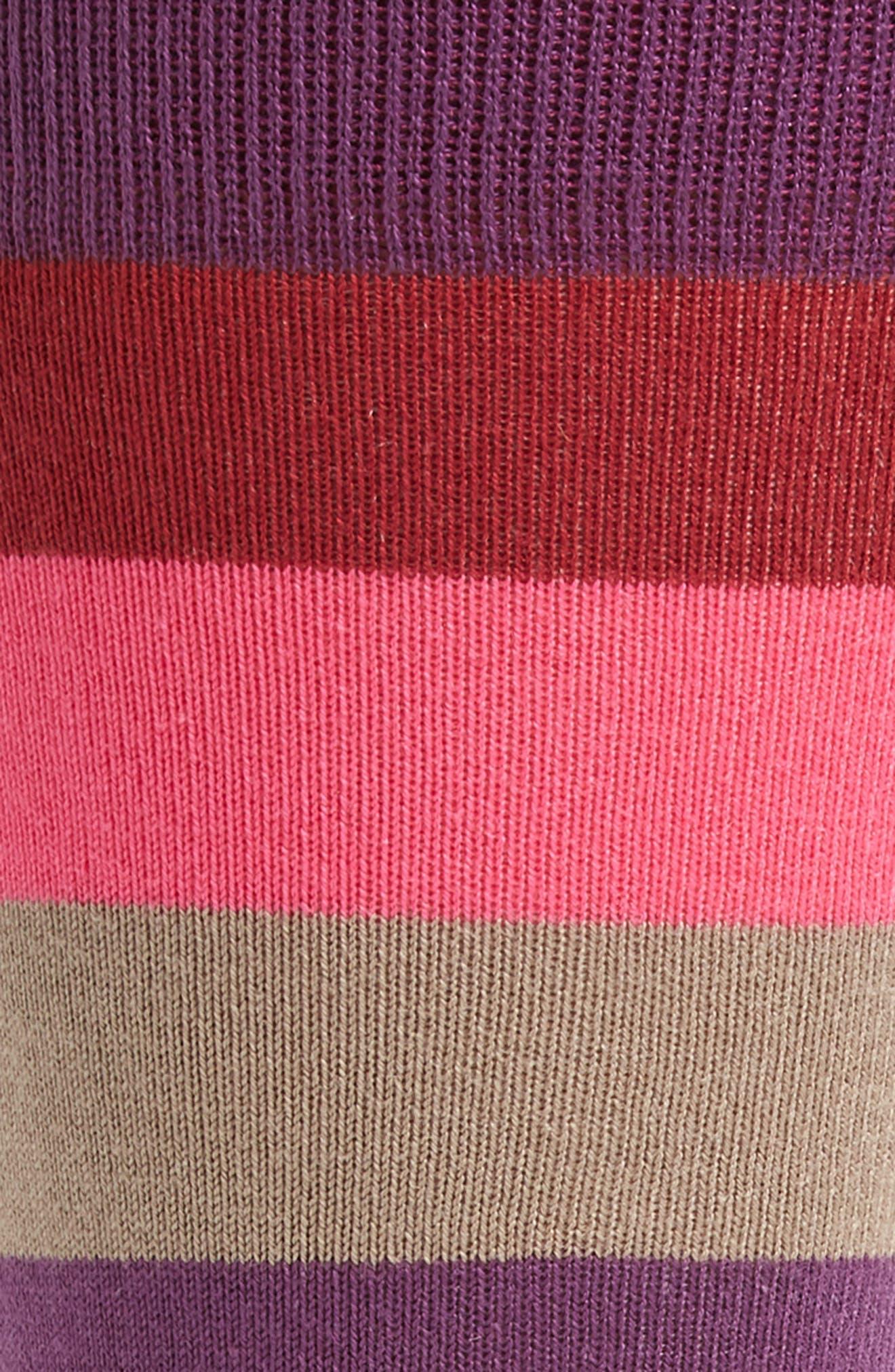 Buxton Stripe Socks,                             Alternate thumbnail 6, color,