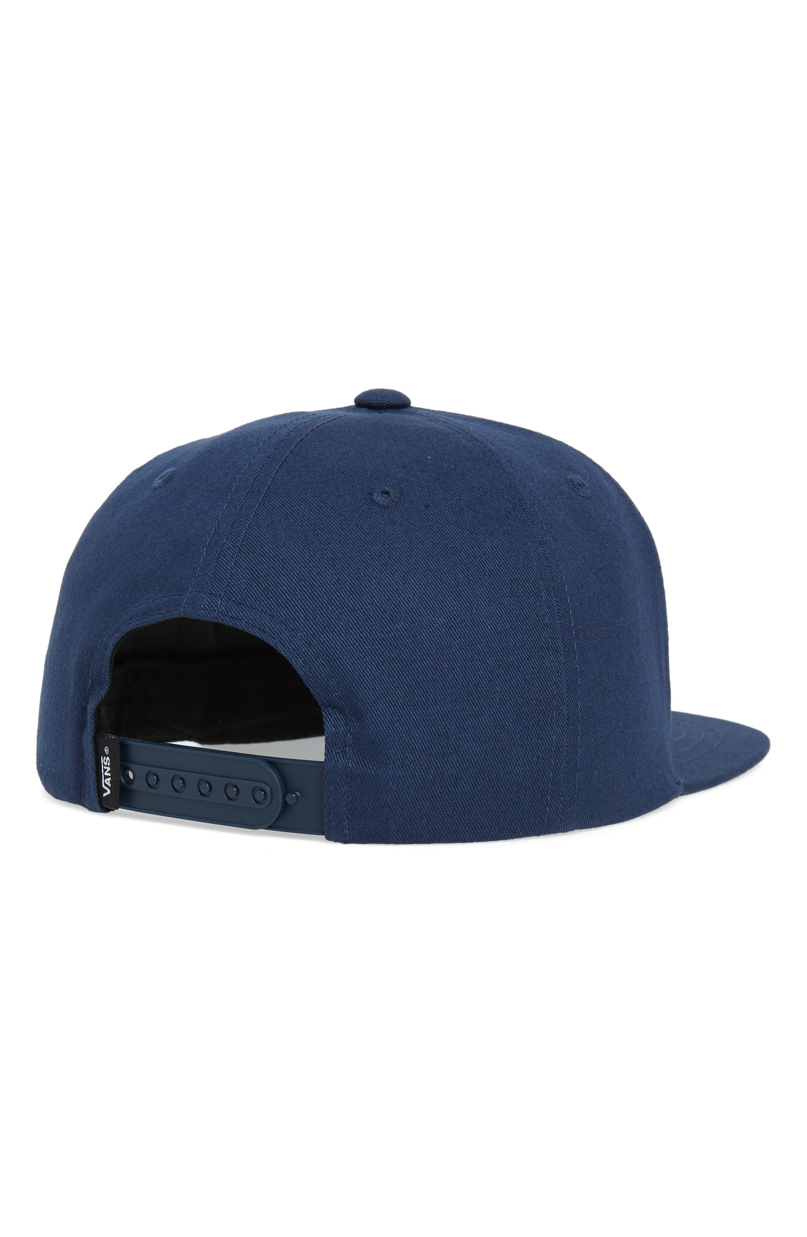 VANS,                             Whitford Snapback Hat,                             Alternate thumbnail 2, color,                             DRESS BLUES