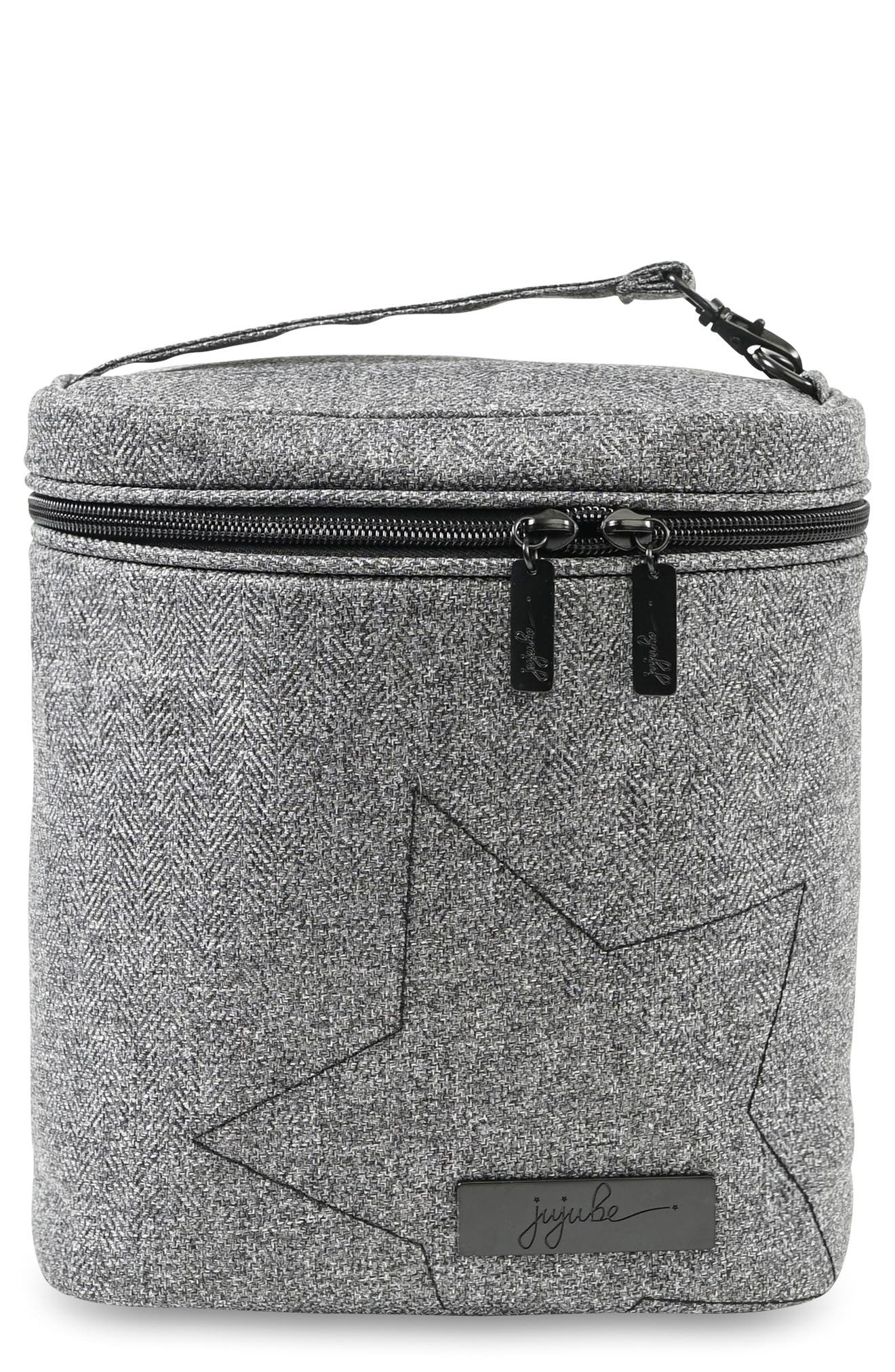 'Fuel Cell - Onyx Collection' Lunch Bag,                             Main thumbnail 1, color,                             GRAY MATTER