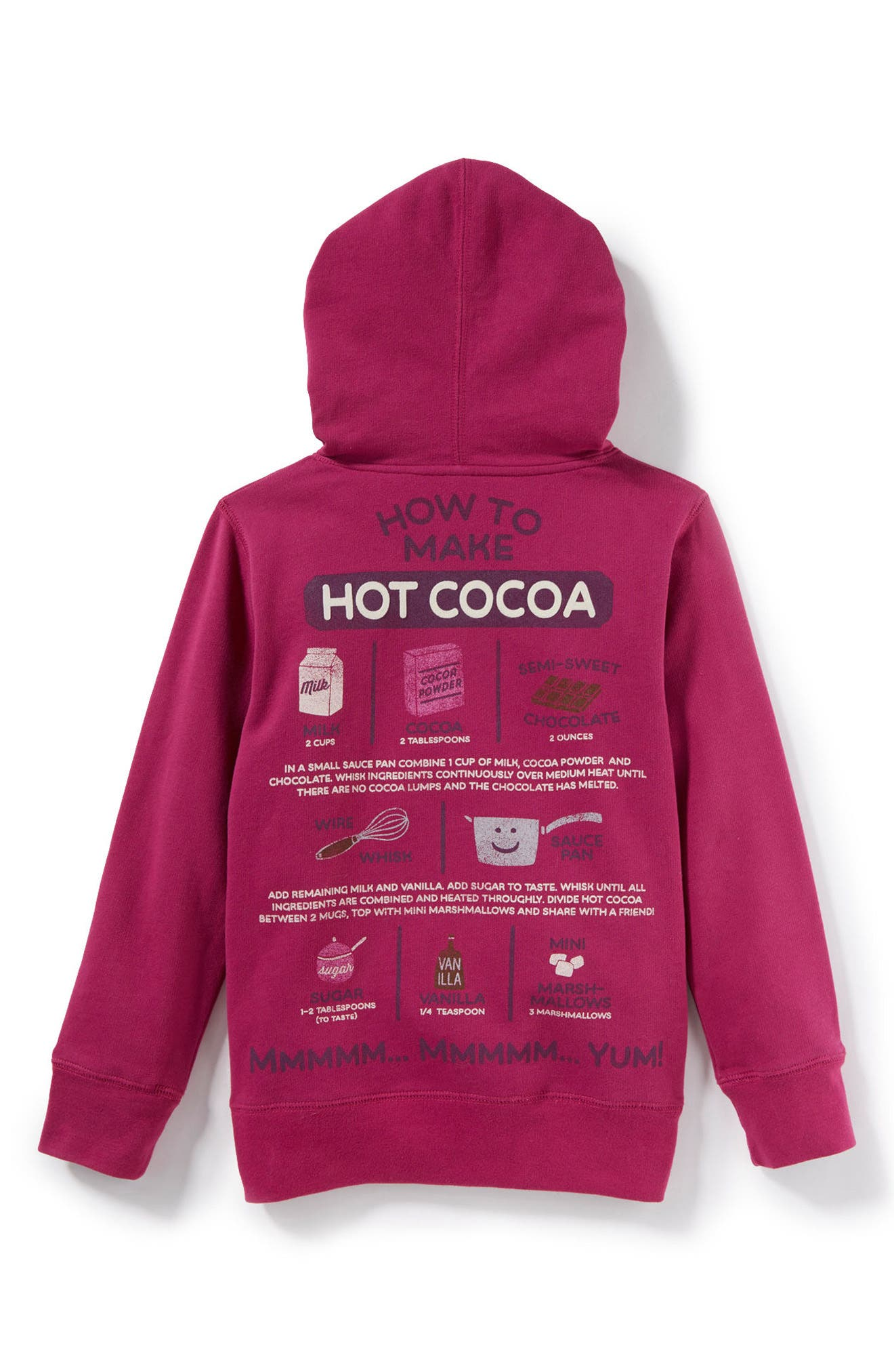 Peek It's Cocoa Time Graphic Hoodie,                             Alternate thumbnail 2, color,                             511