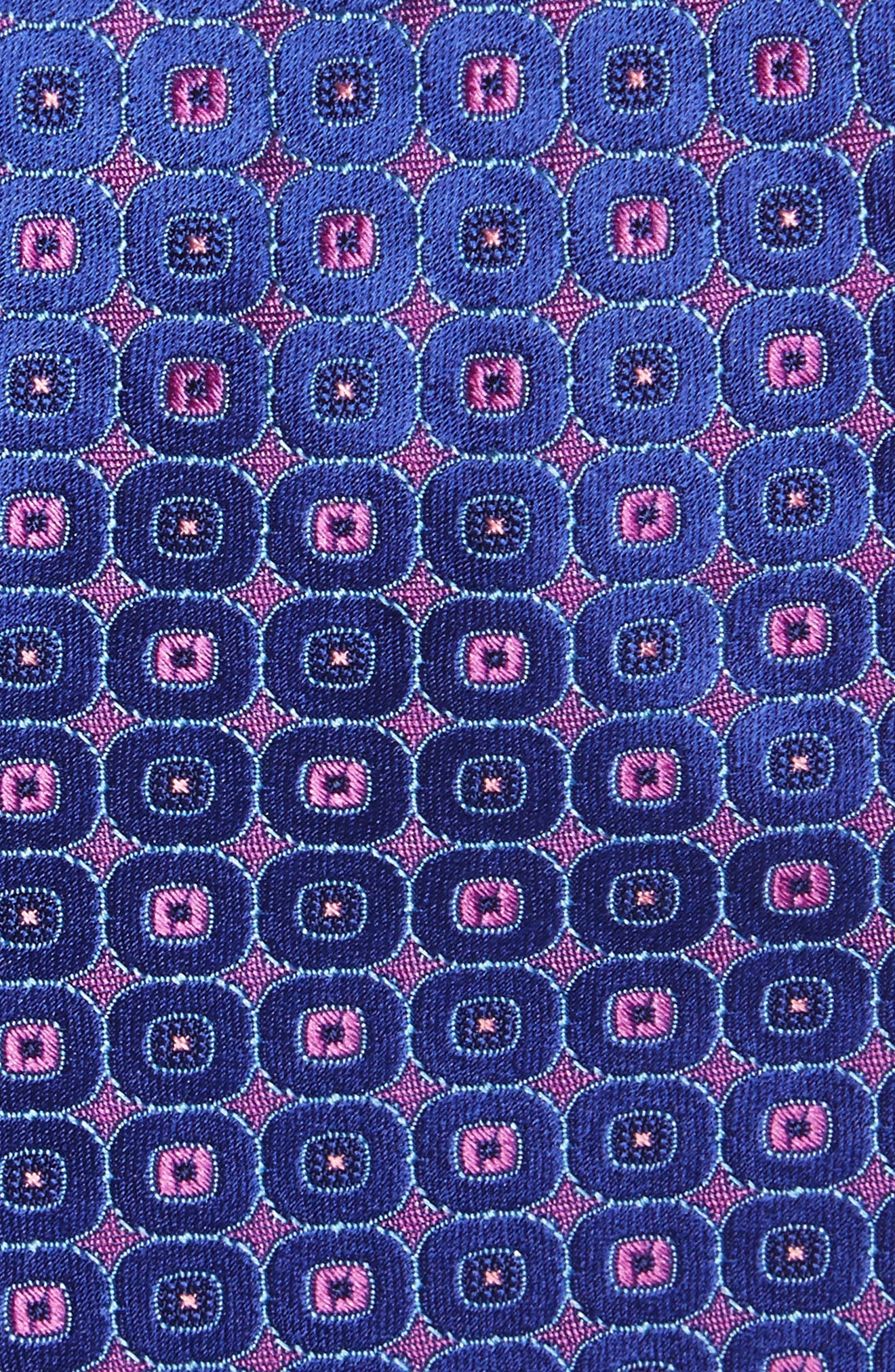 Medallion Silk Tie,                             Alternate thumbnail 5, color,