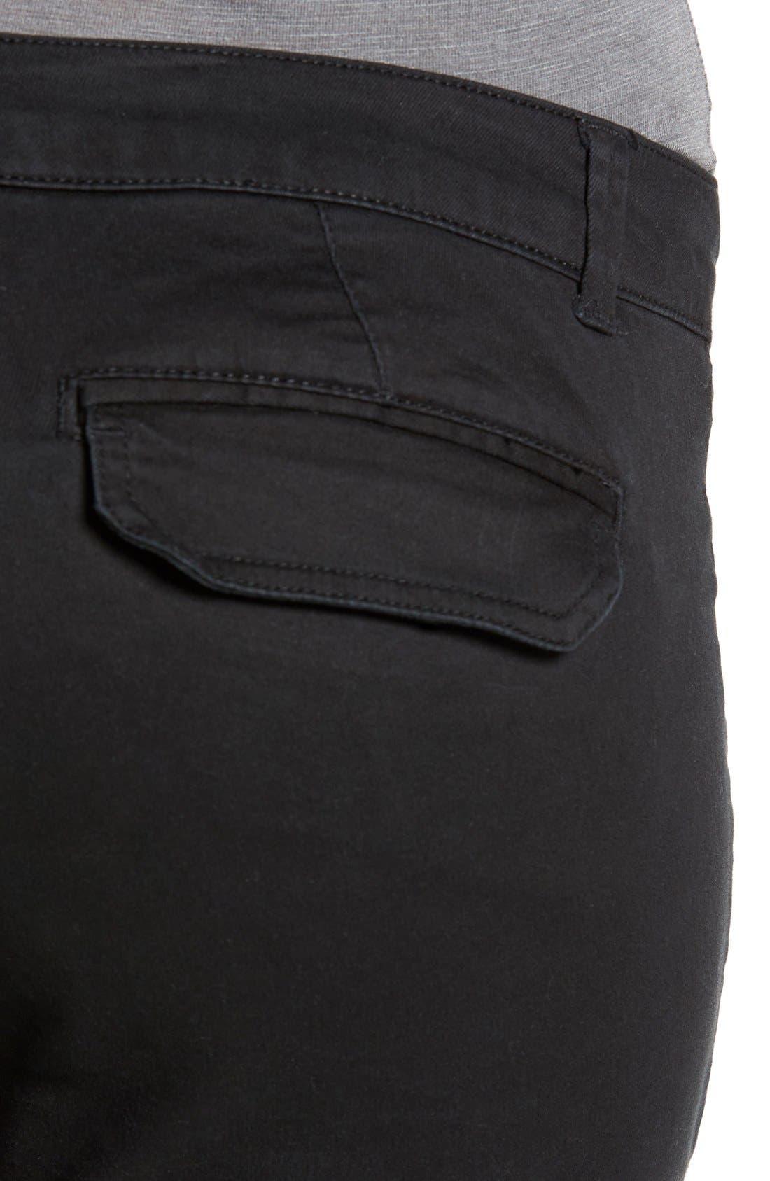 Skinny Cargo Pants,                             Alternate thumbnail 2, color,                             001