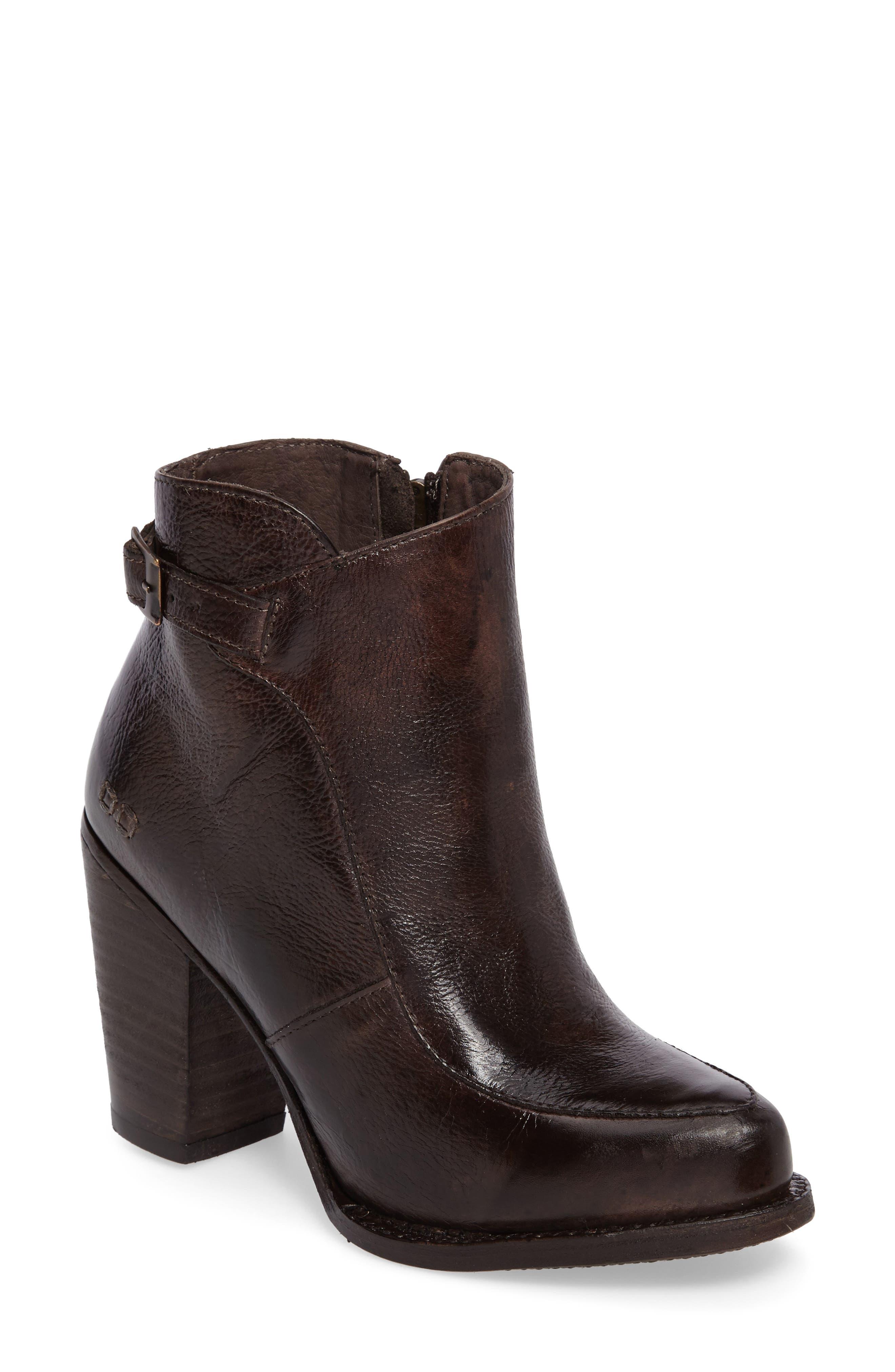 'Isla' Stacked Heel Boot,                         Main,                         color, 201