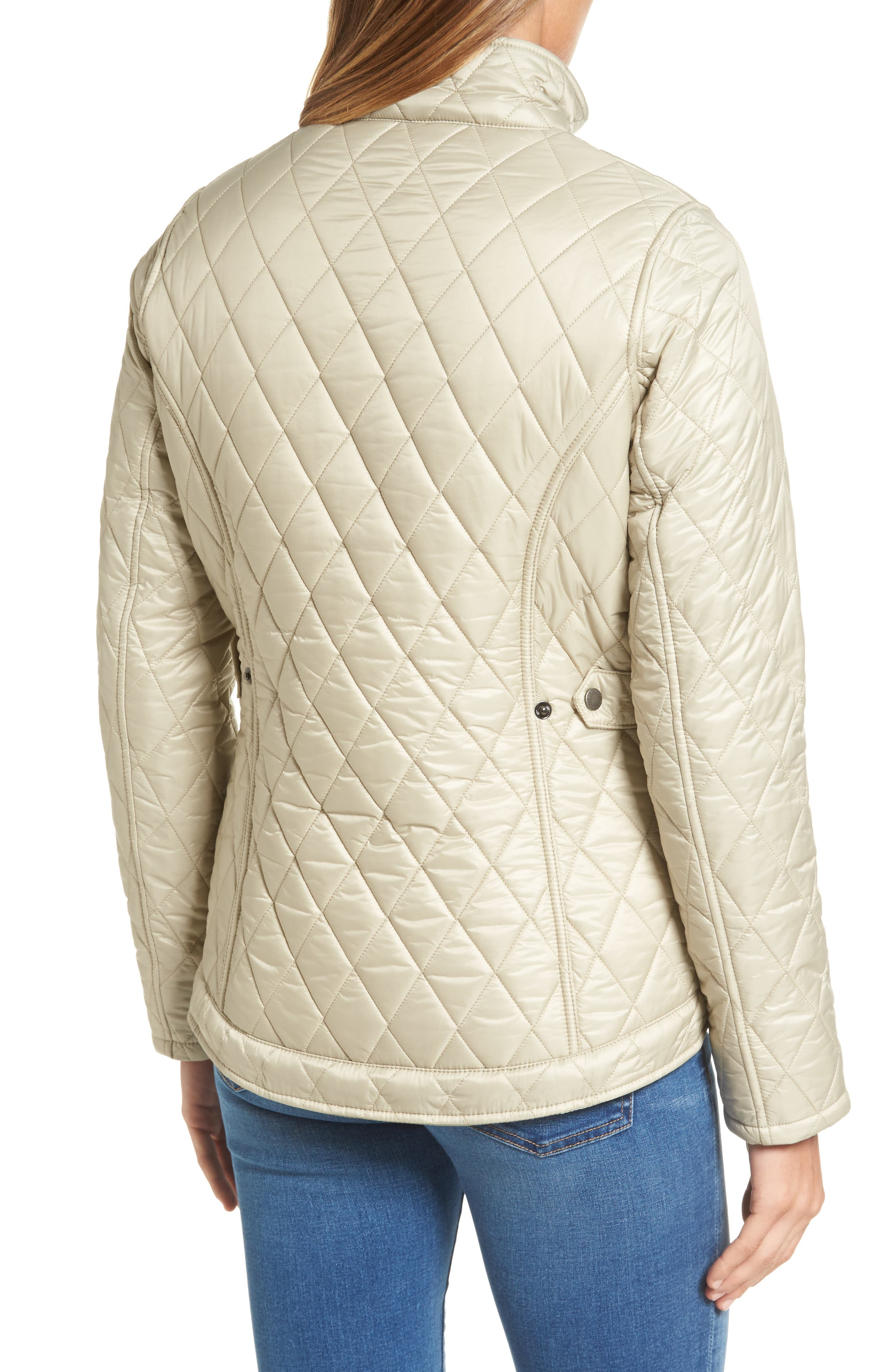 Filey Water Resistant Quilted Jacket,                             Alternate thumbnail 2, color,                             070