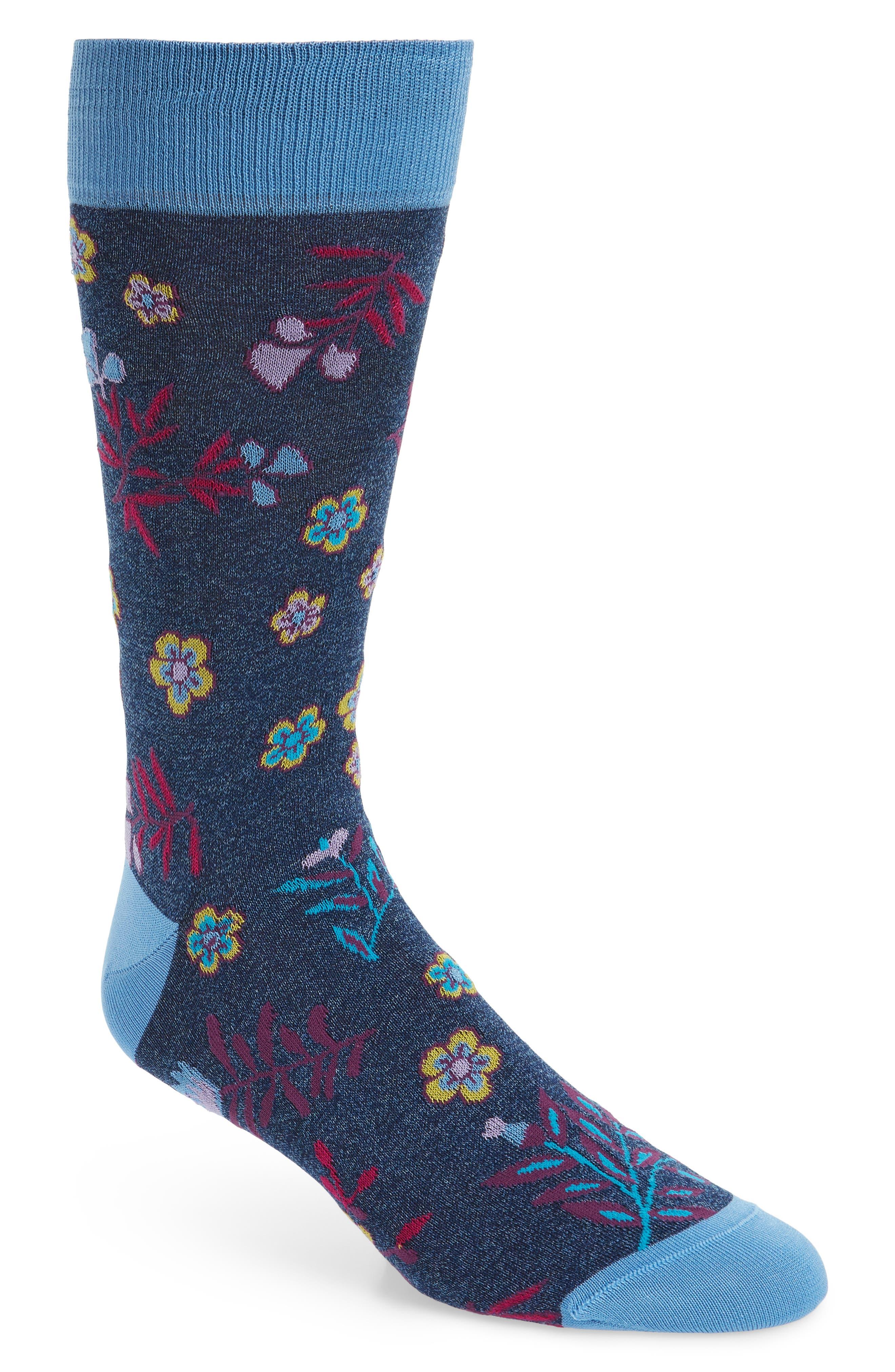 Cotton Blend Socks,                         Main,                         color, 423