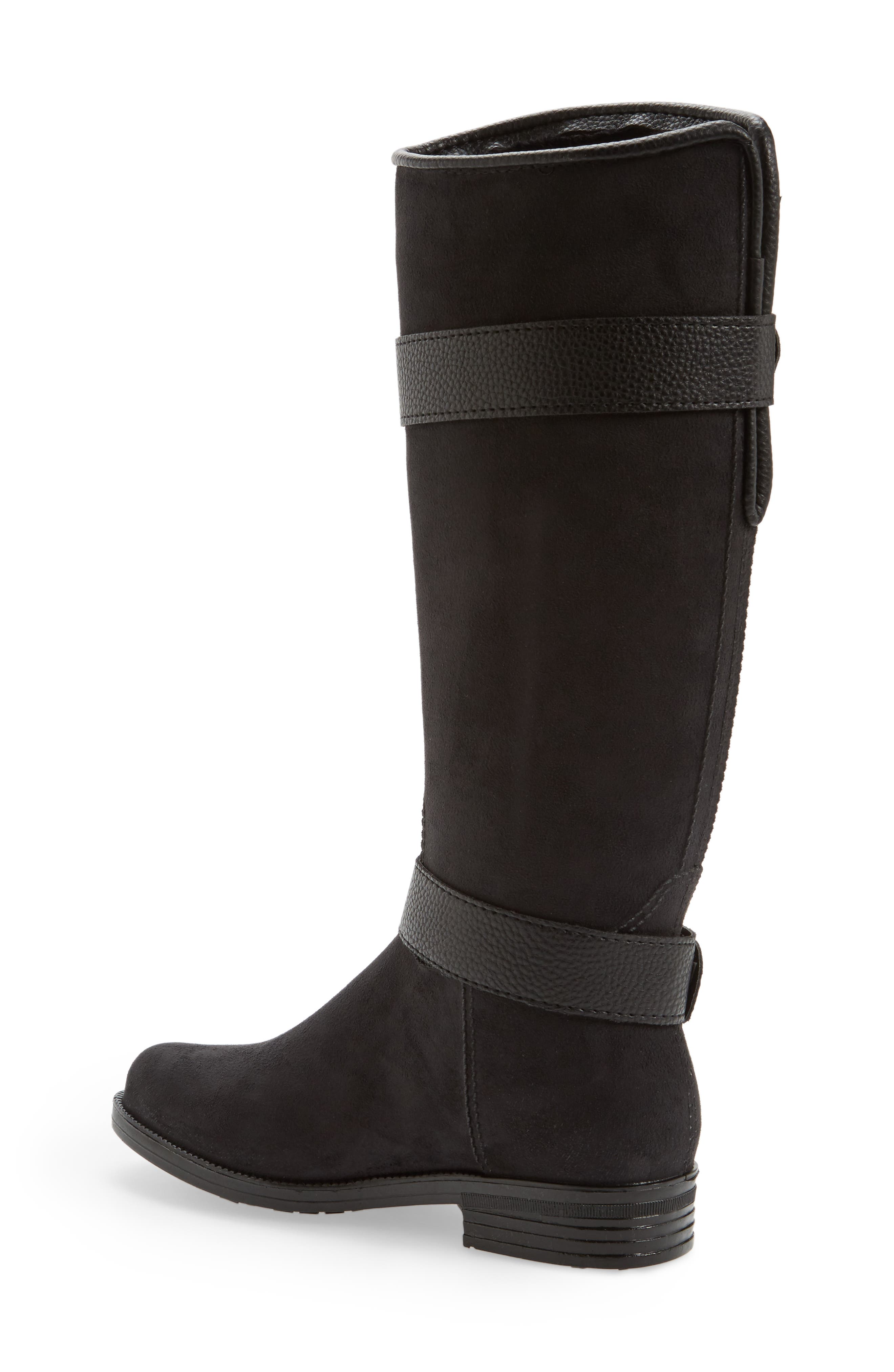 Bristol Water Resistant Boot,                             Alternate thumbnail 2, color,                             BLACK