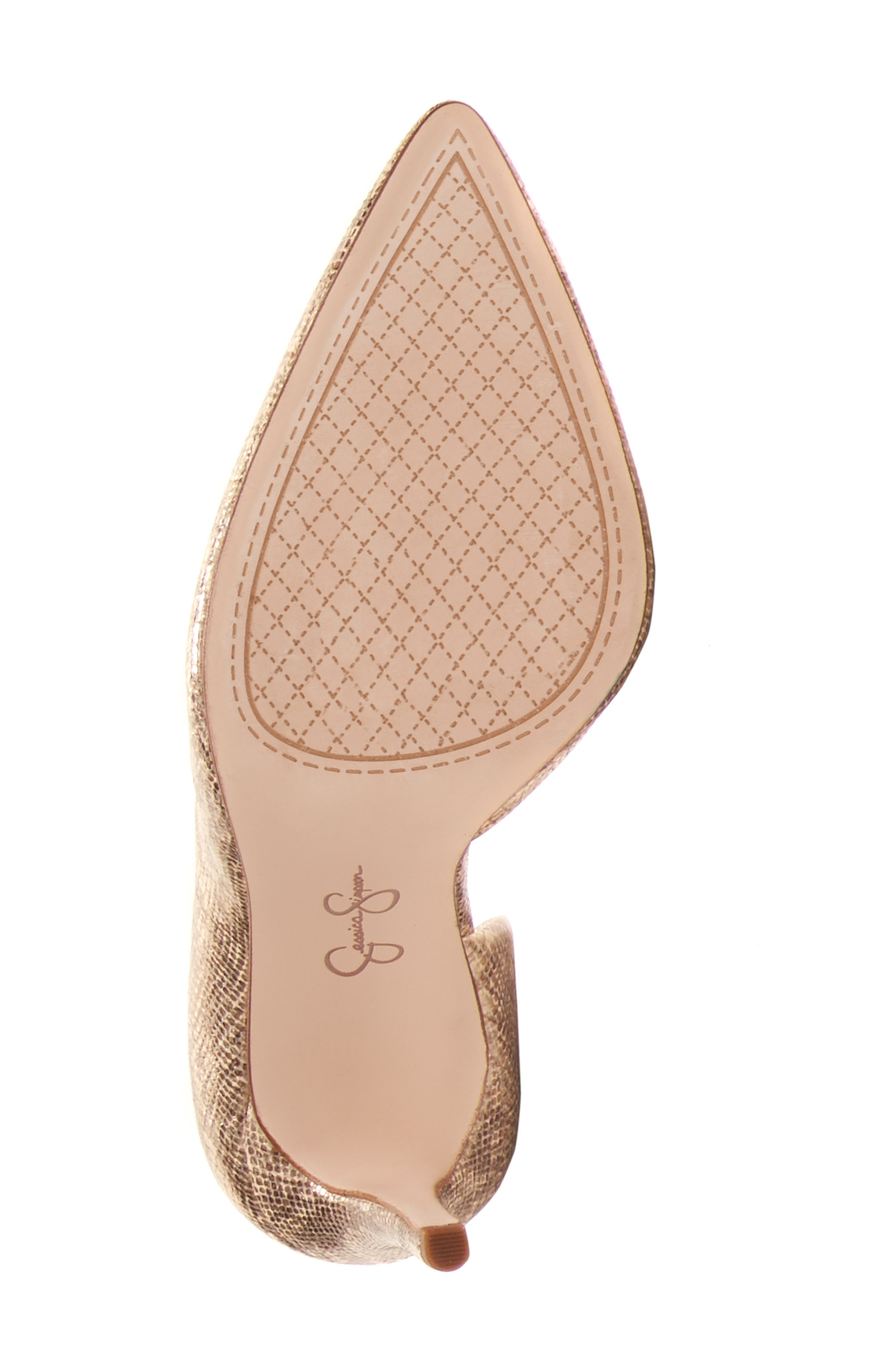 JESSICA SIMPSON,                             Pheona Pump,                             Alternate thumbnail 5, color,                             KARAT GOLD