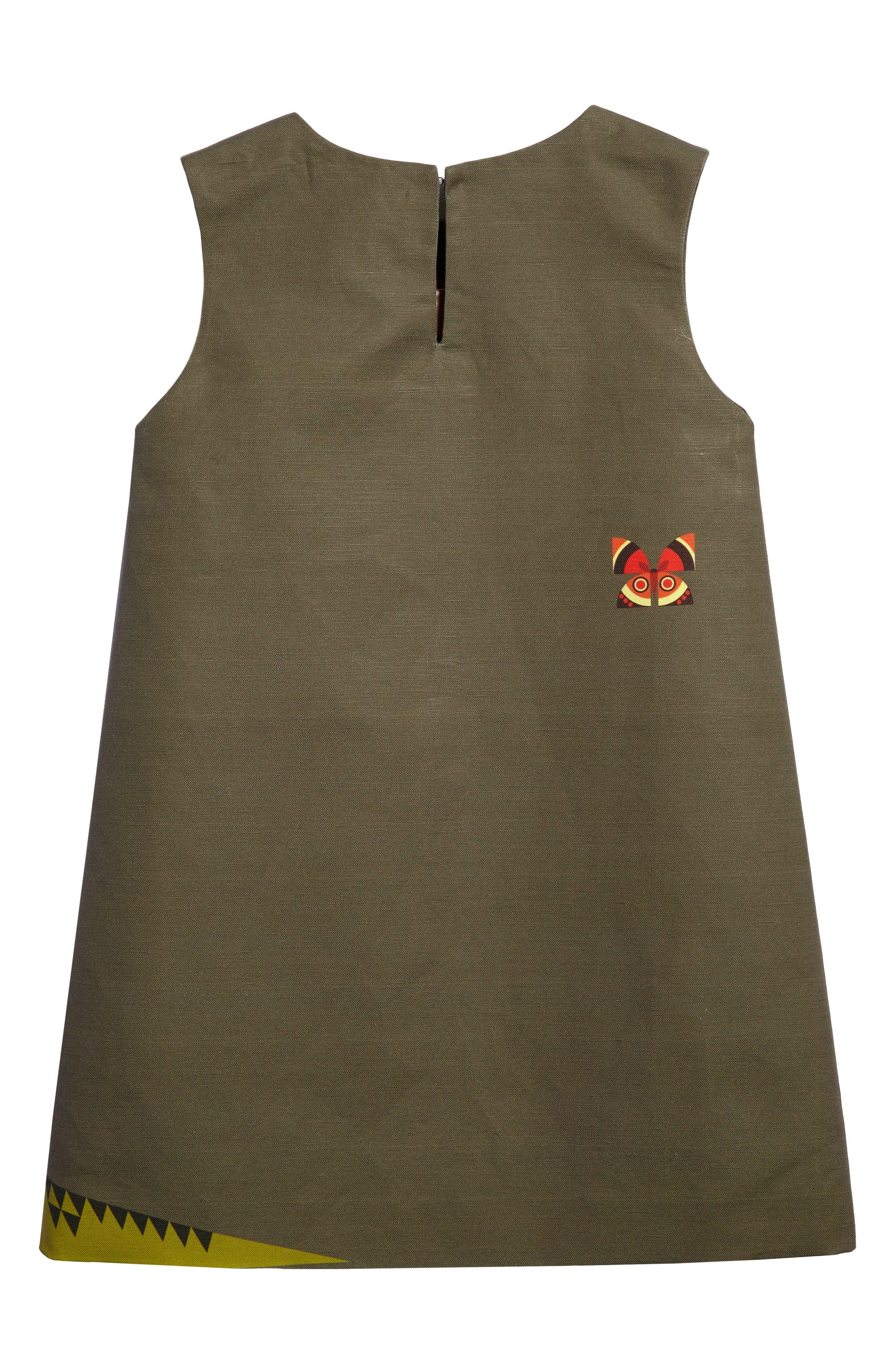 Menagerie A-Line Dress,                             Alternate thumbnail 2, color,                             300