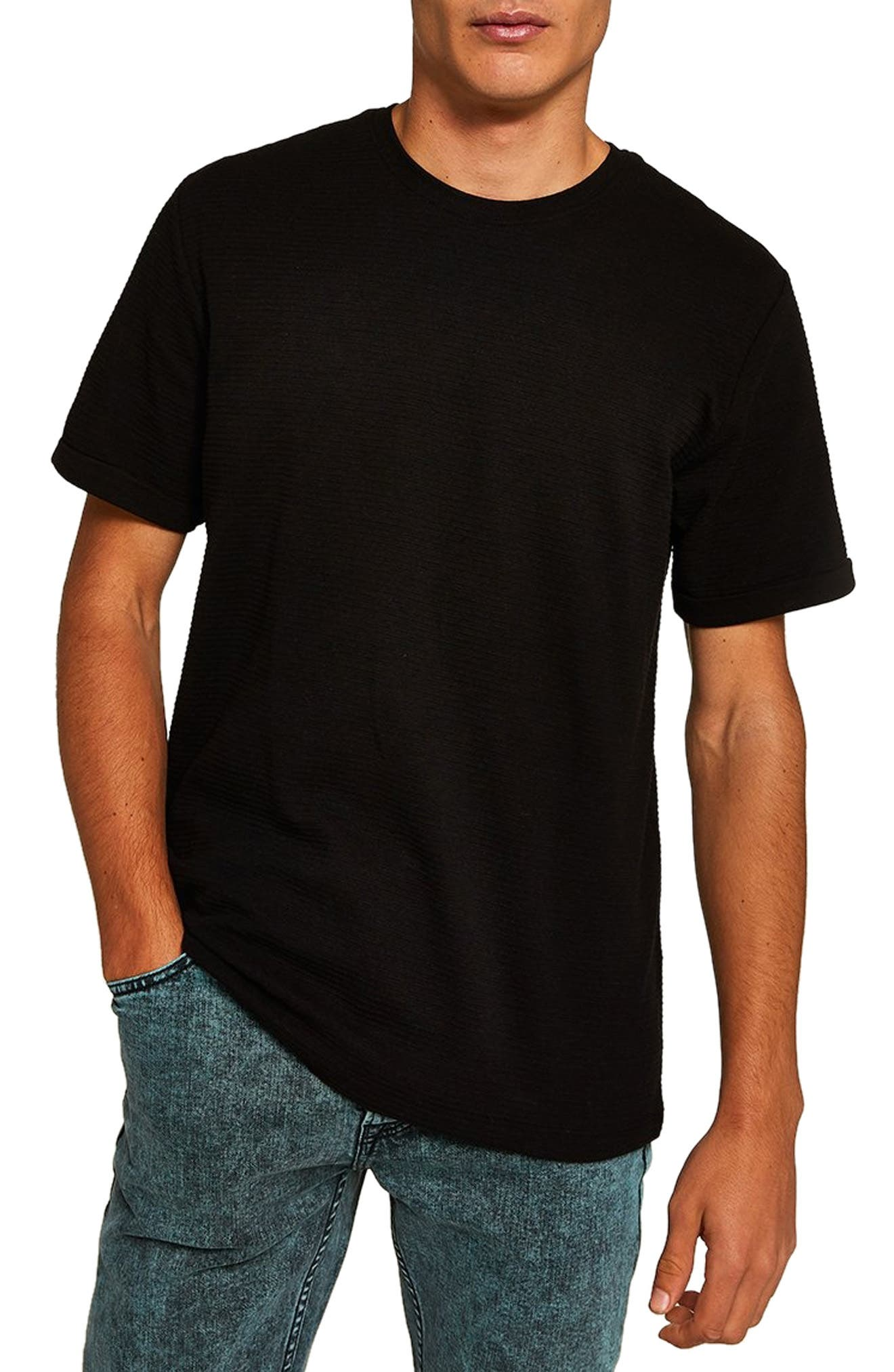 Ottoman Classic Fit T-Shirt,                             Main thumbnail 1, color,                             BLACK