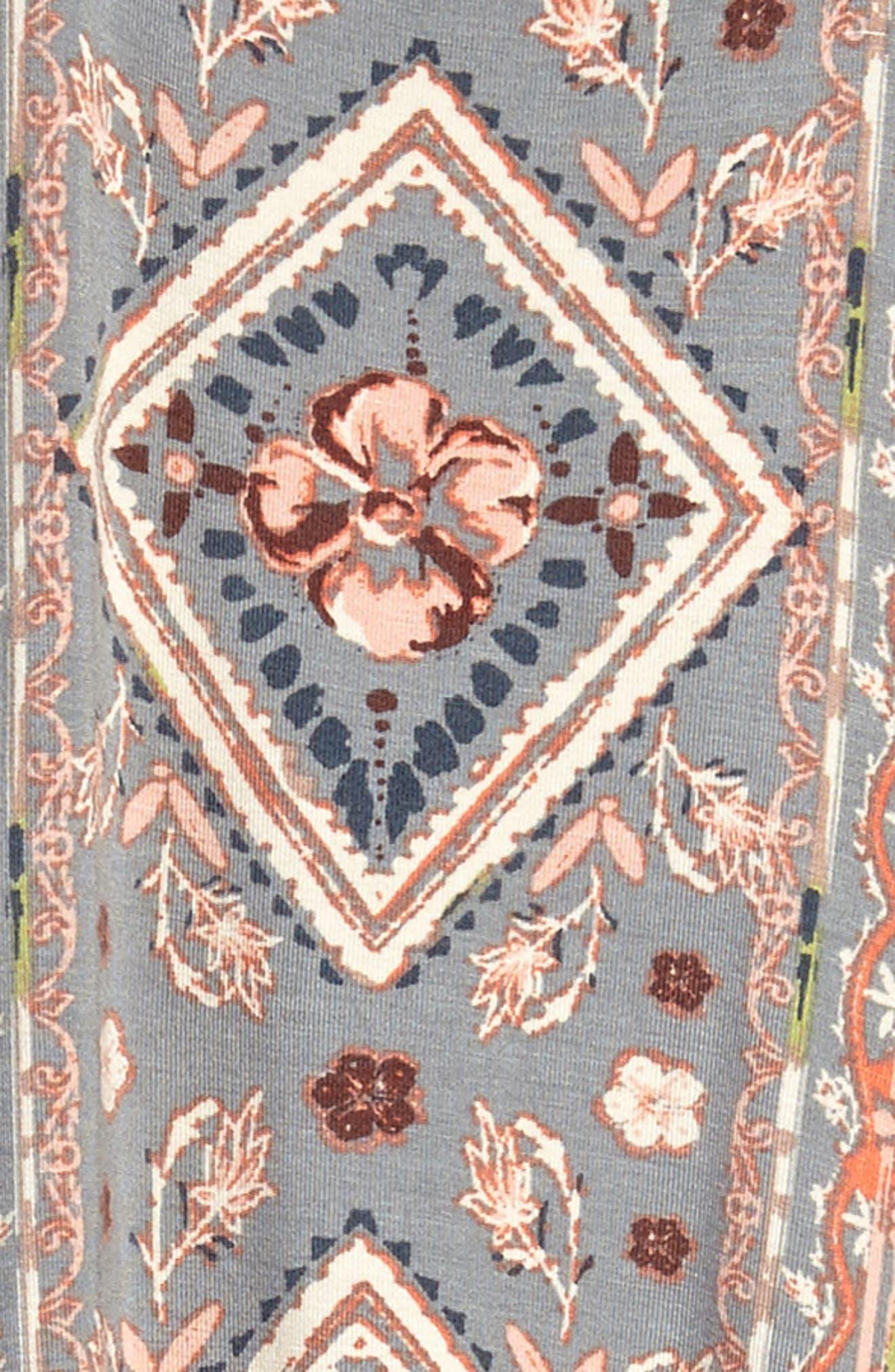 Sonia Print Sundress,                             Alternate thumbnail 4, color,                             036