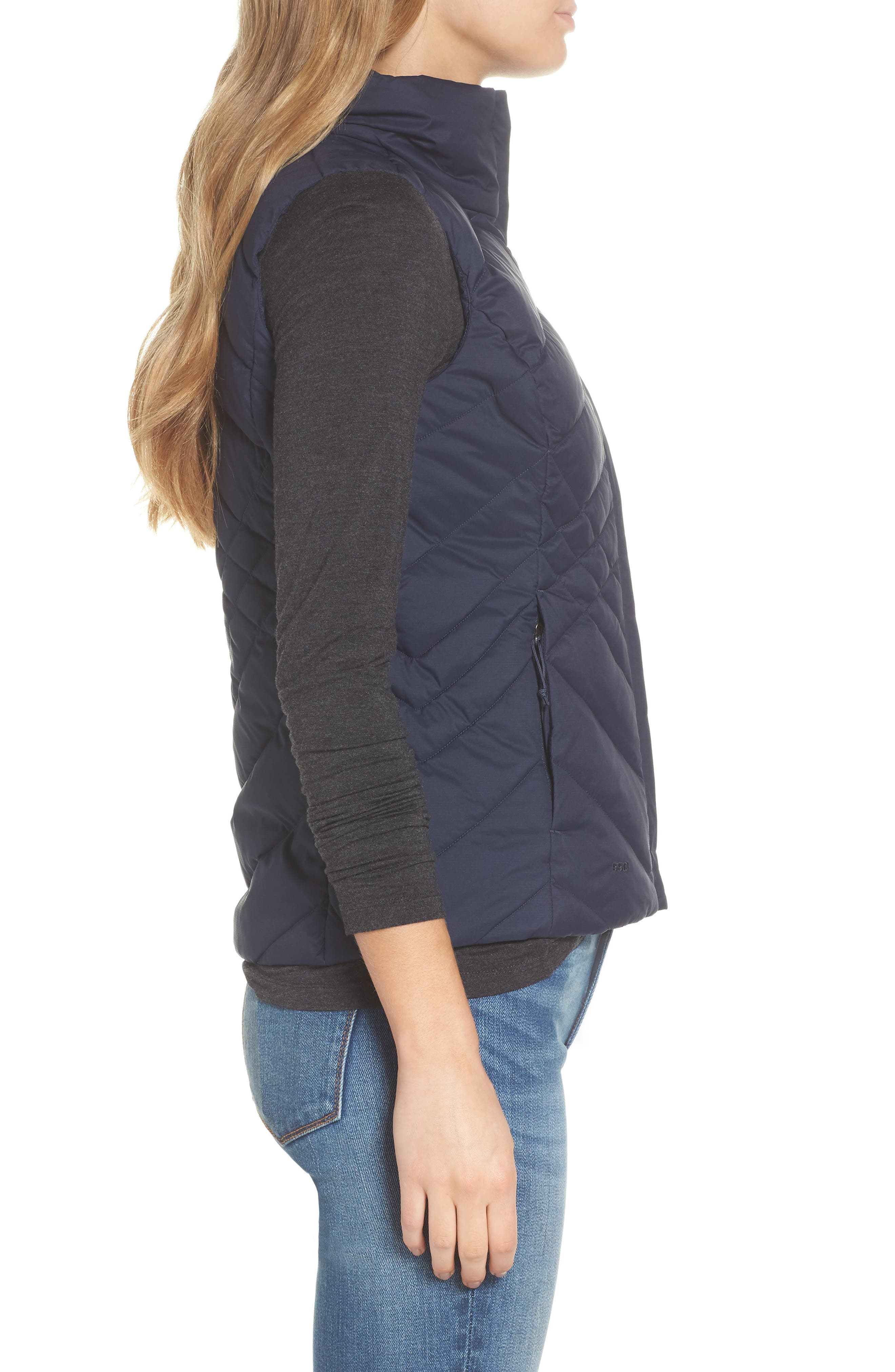 Aconcagua Down Vest,                             Alternate thumbnail 3, color,                             MATTE URBAN NAVY